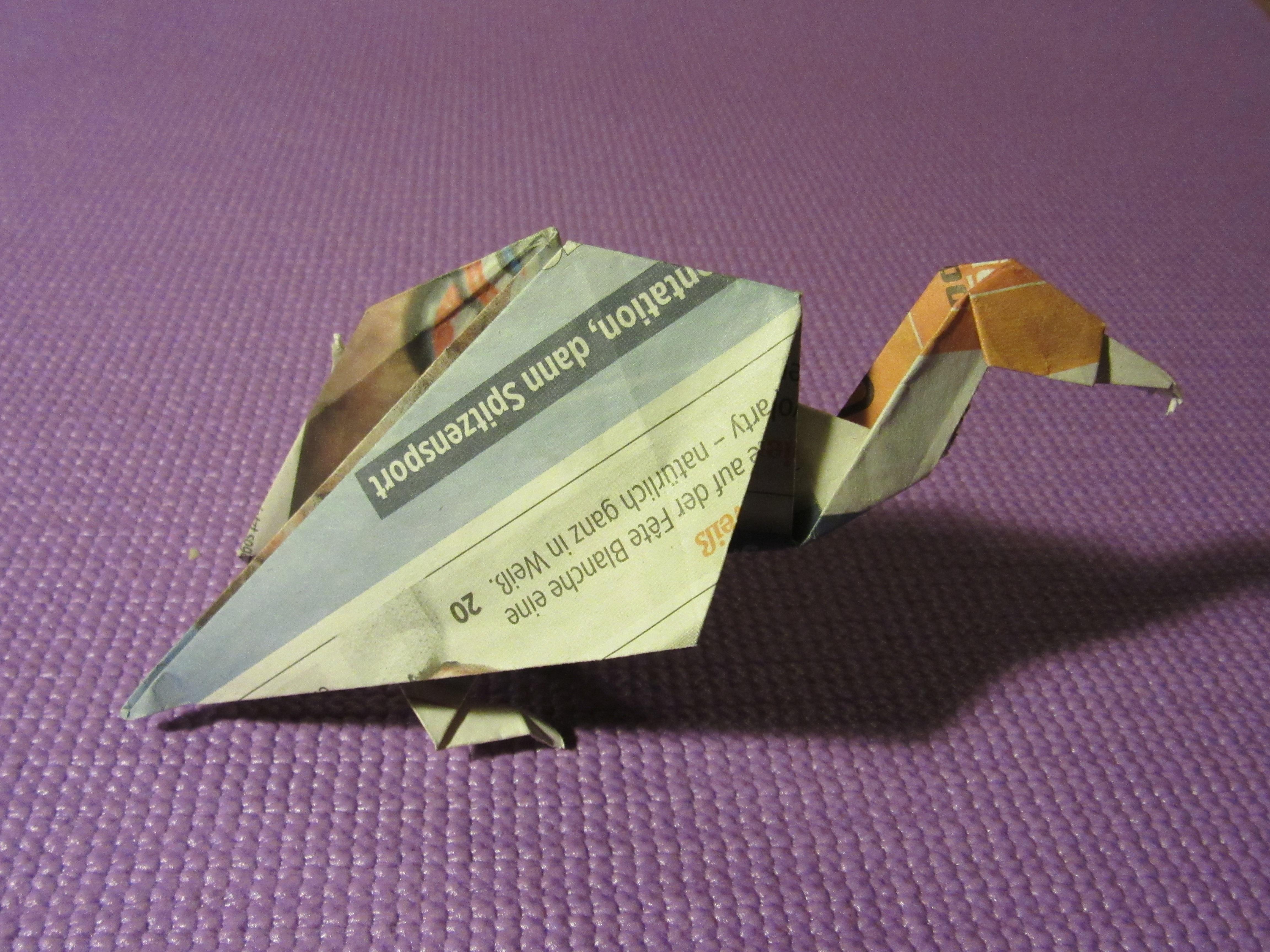 Masterful Dinosaur and Creature Origami-10 – Fubiz Media | 3456x4608