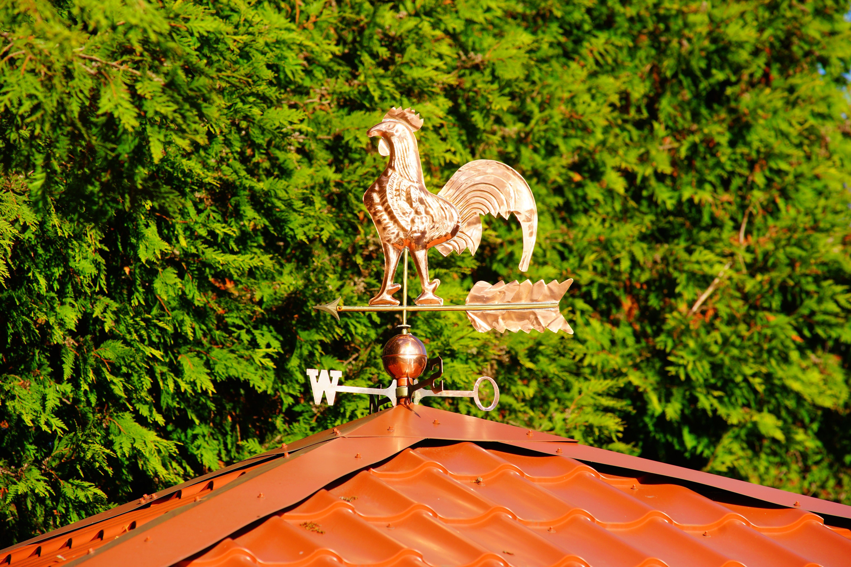 Images Gratuites : structure, toit, maison, décoration, rouge ...