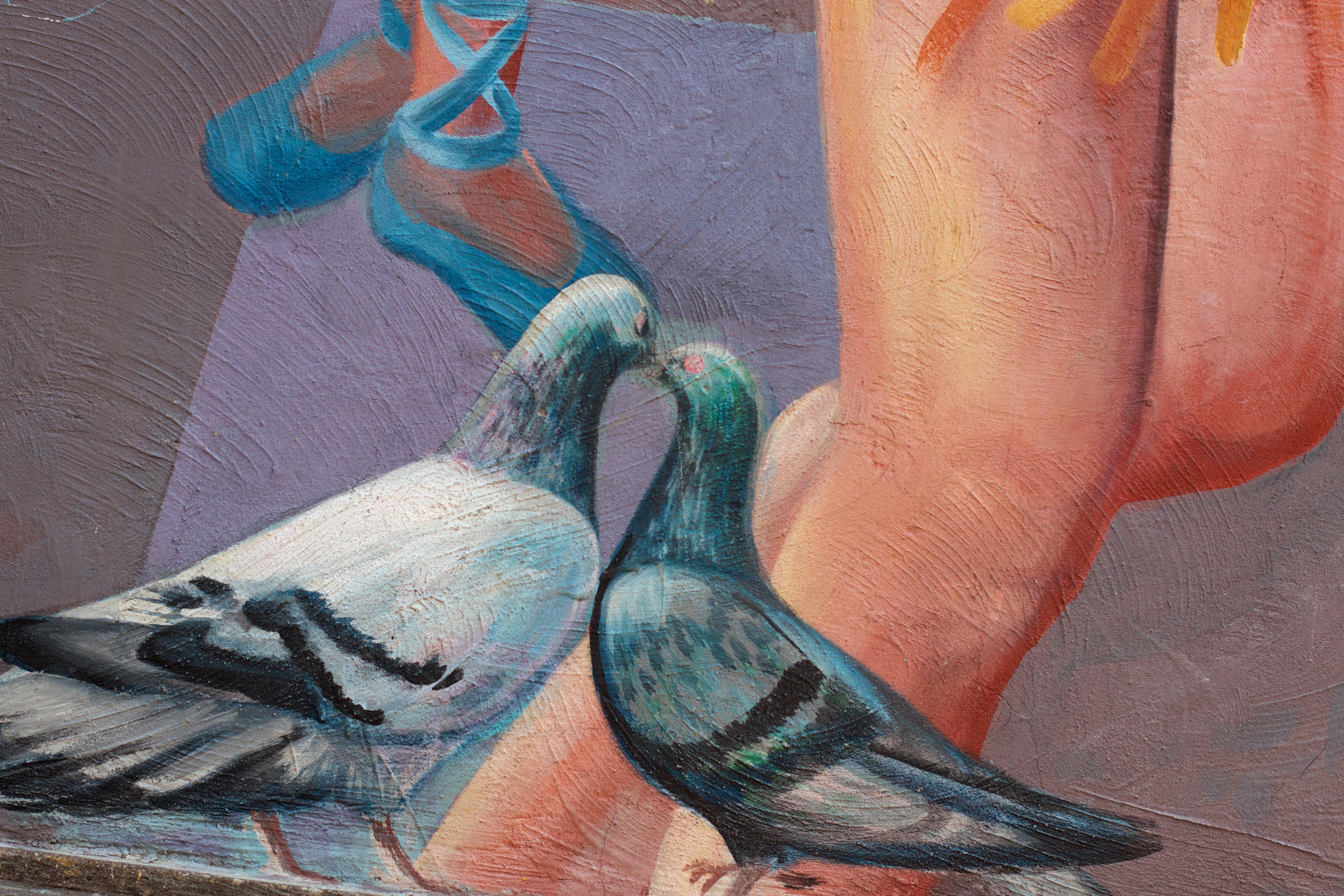 Fotoğraf Kuş Kanat Renk Mavi Kol Boyama Sanat çizim