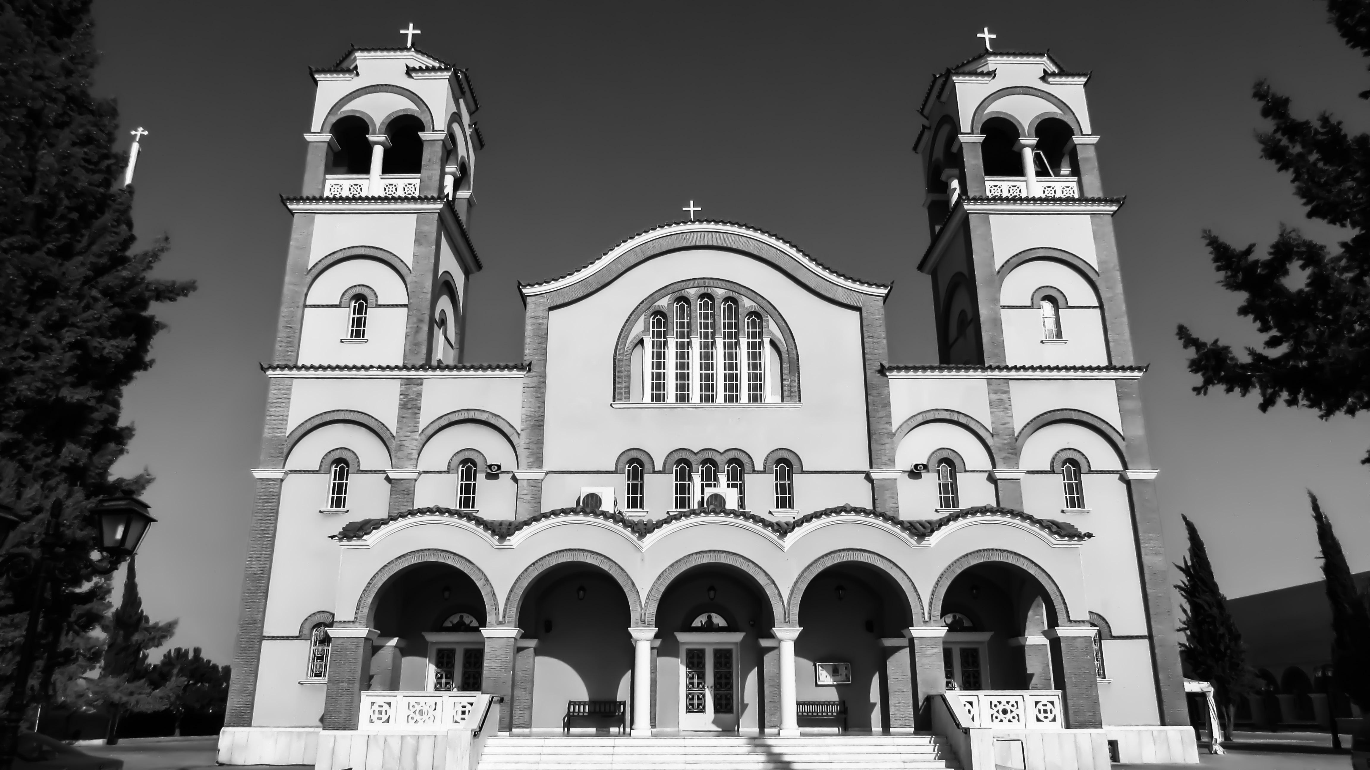 Images gratuites noir et blanc b timent religion for Architecture noir et blanc