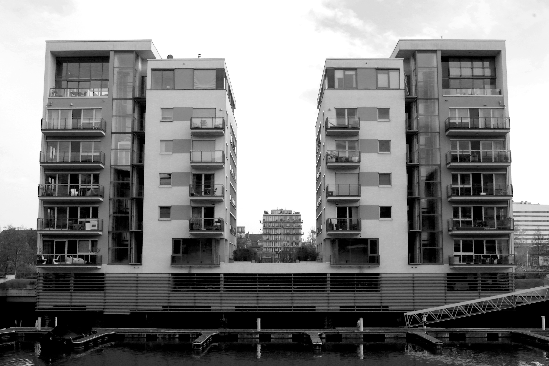 Zwart Wit Appartement : Gratis afbeeldingen : zwart en wit architectuur huis stad