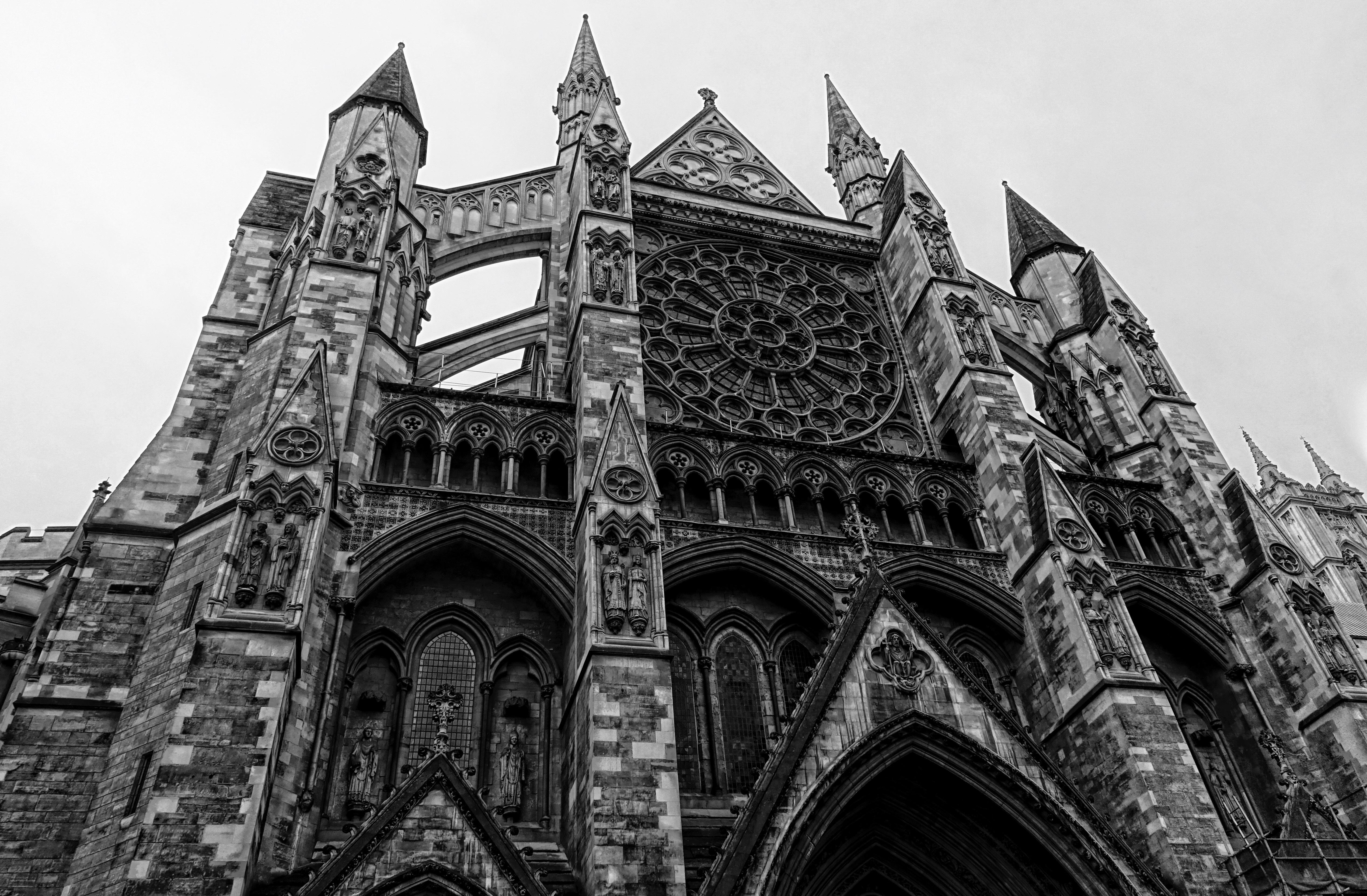 что же, ретро фото готической архитектуры литературой звягинцев интересовался