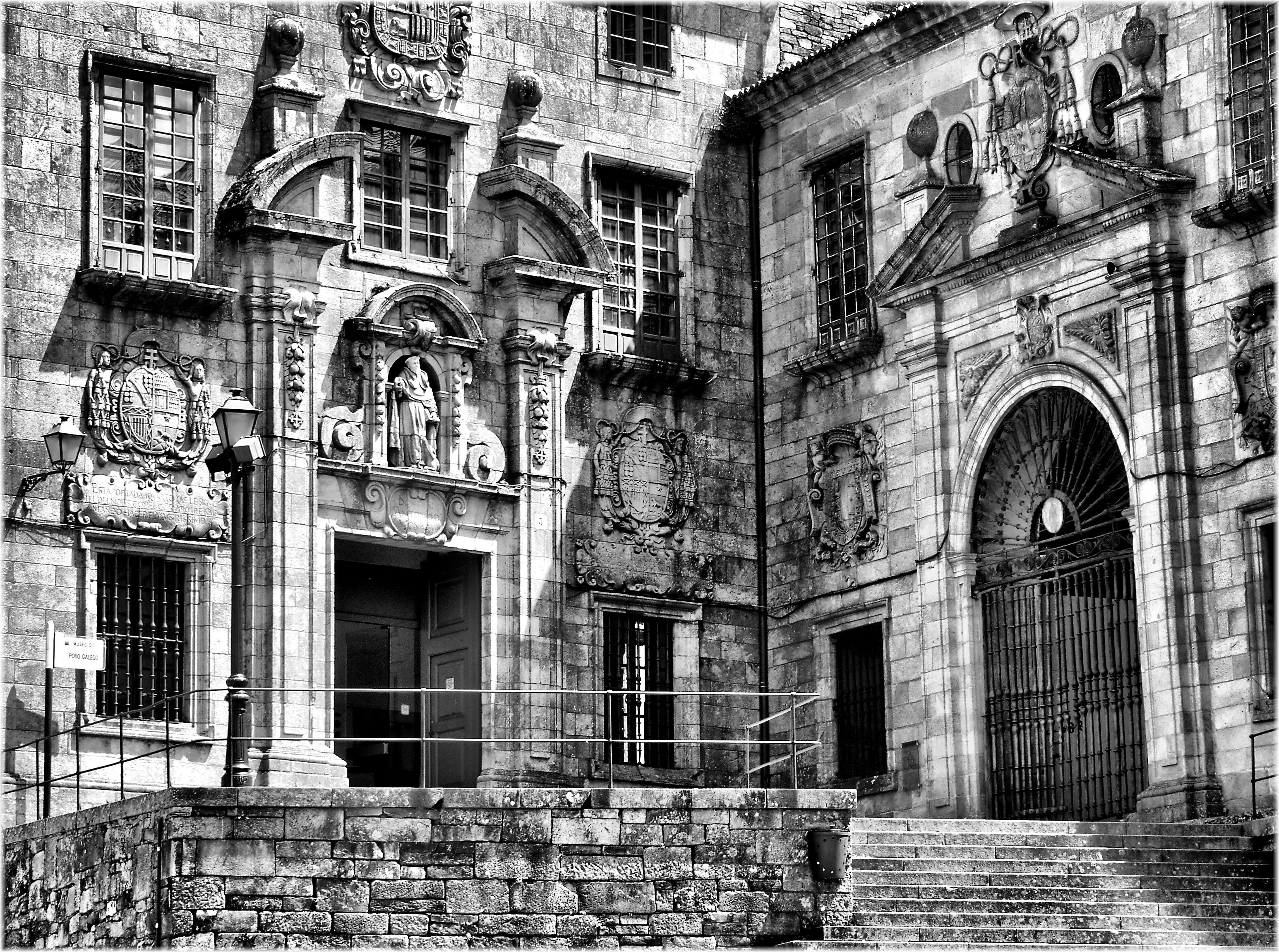 Fotos gratis en blanco y negro arquitectura calle - Casas gratis en pueblos de espana ...