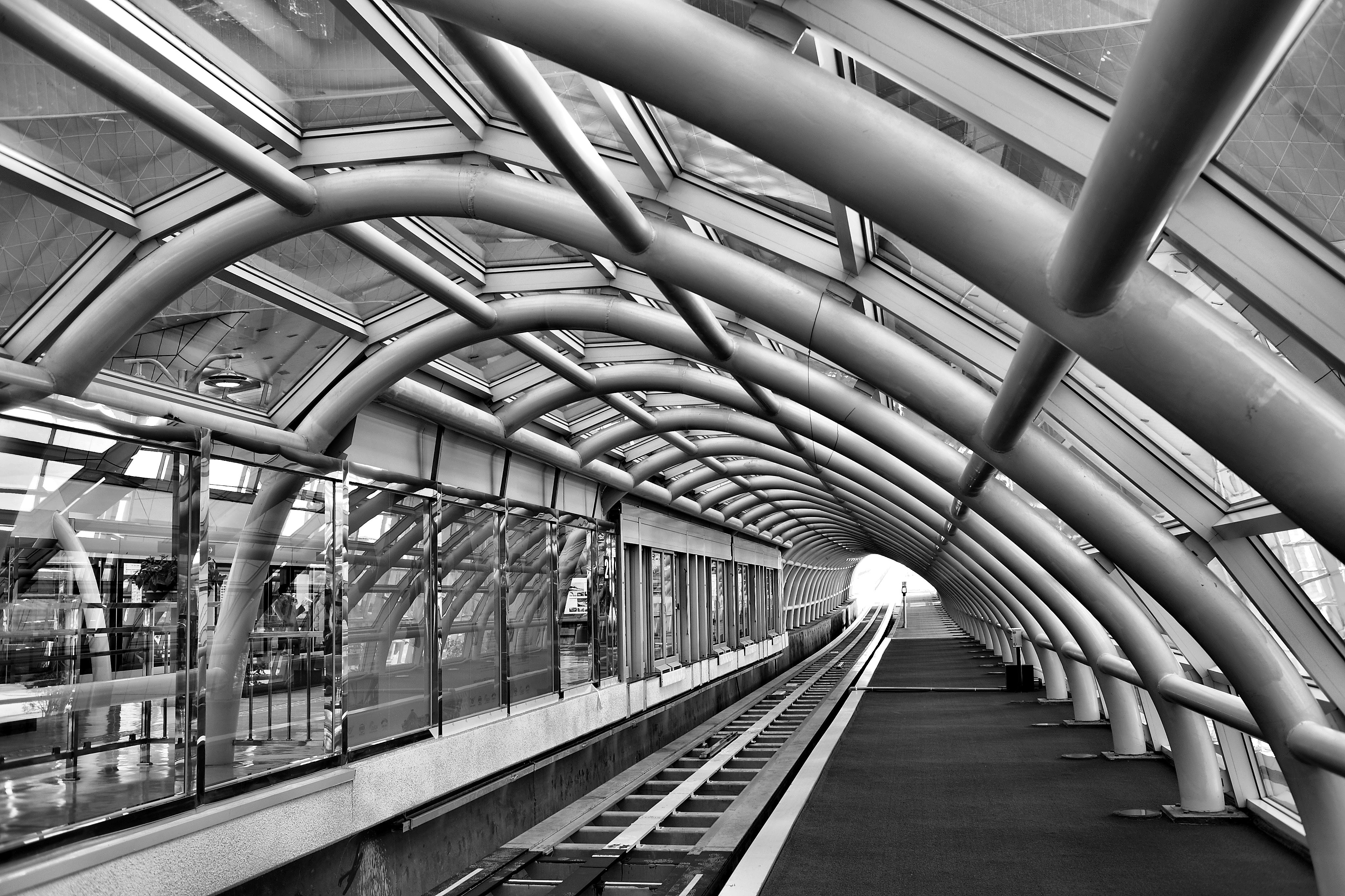 Fotos gratis en blanco y negro arquitectura pista for Arquitectura en linea gratis