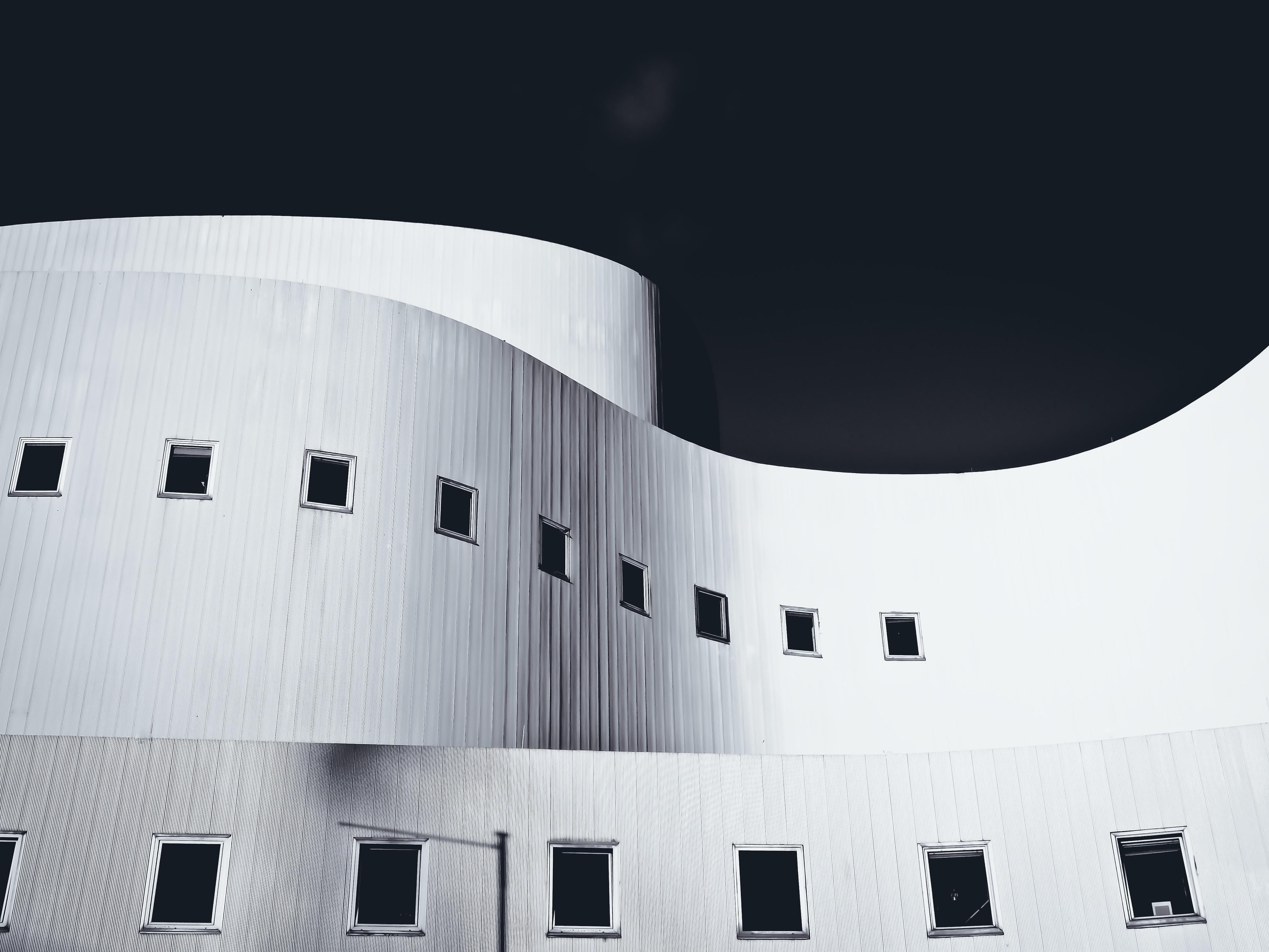 Kostenlose foto : Schwarz und weiß, die Architektur, Weiß, Gebäude ...