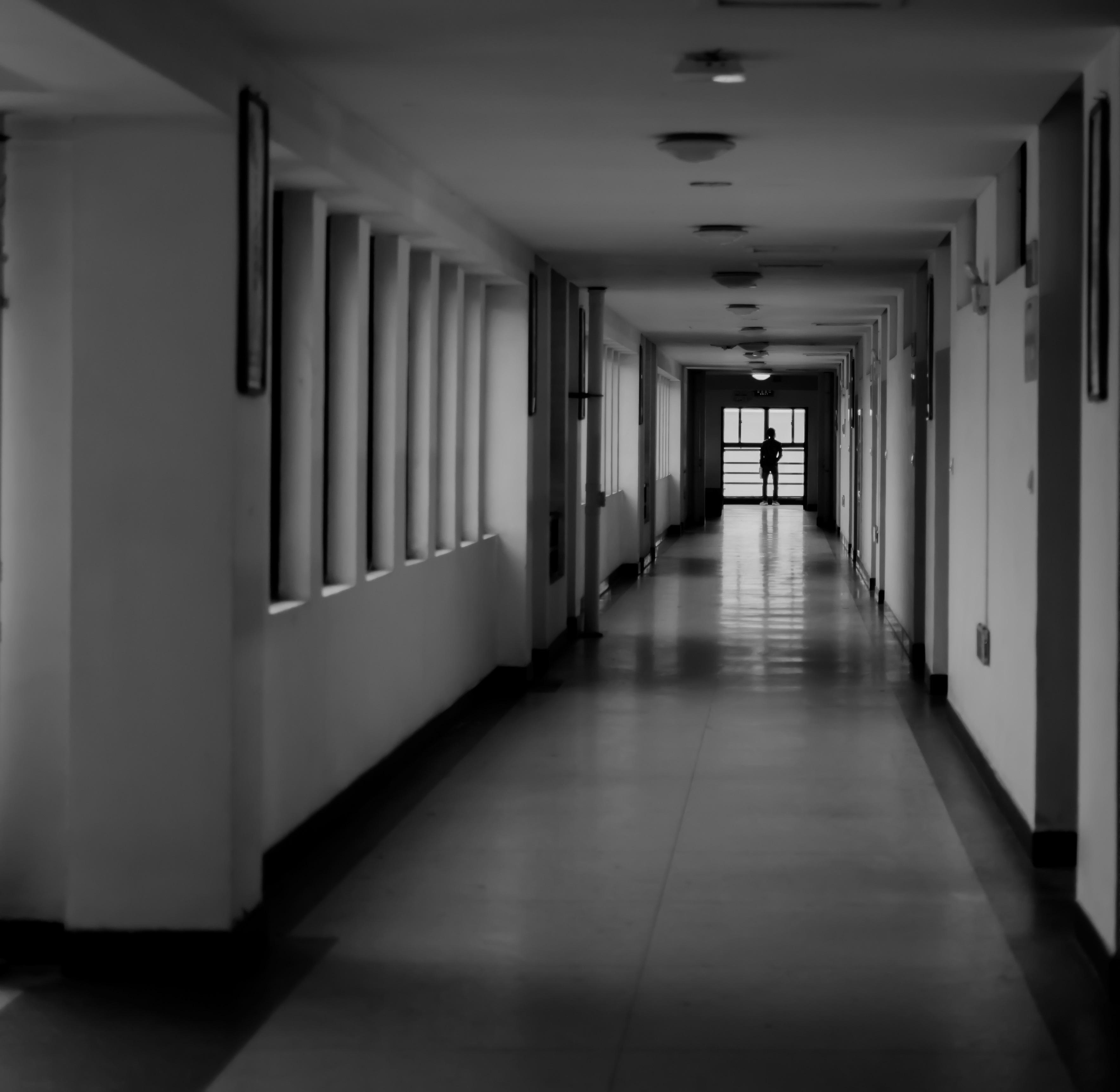 Black And White Architecture Hall Nikon Monochrome Life Interior Design Documentary Photography