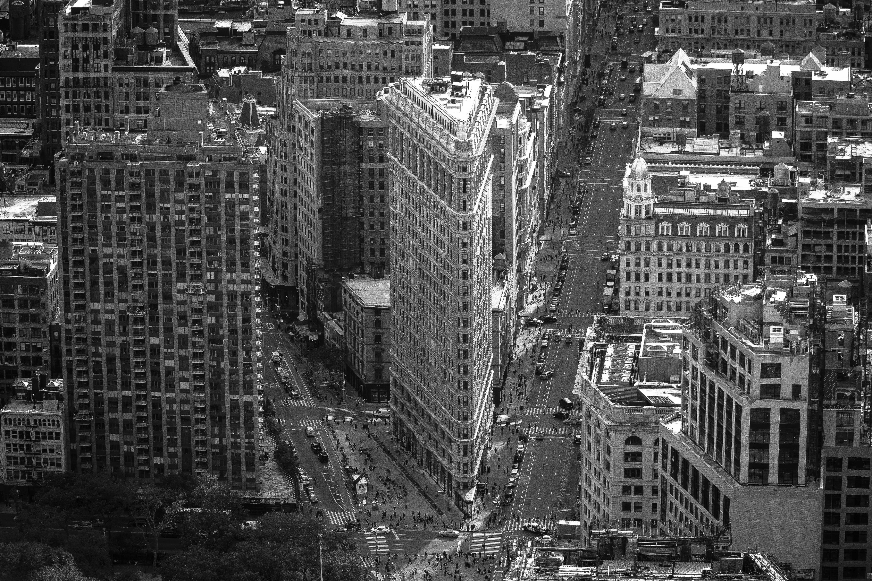 Black Building New York