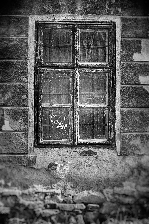 Fotoğraf Siyah Ve Beyaz Mimari Ahşap Doku Pencere