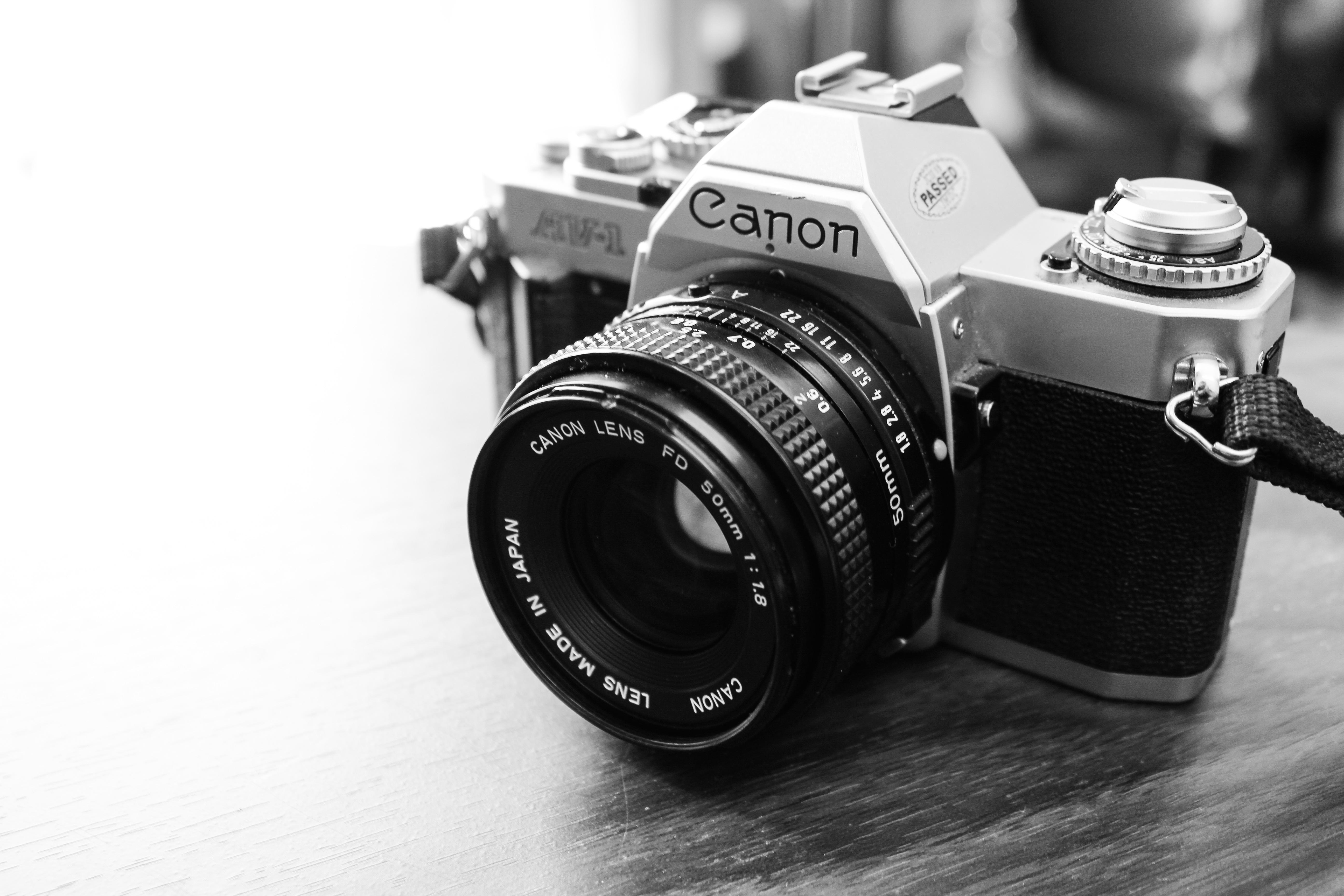 Black retro and white photography