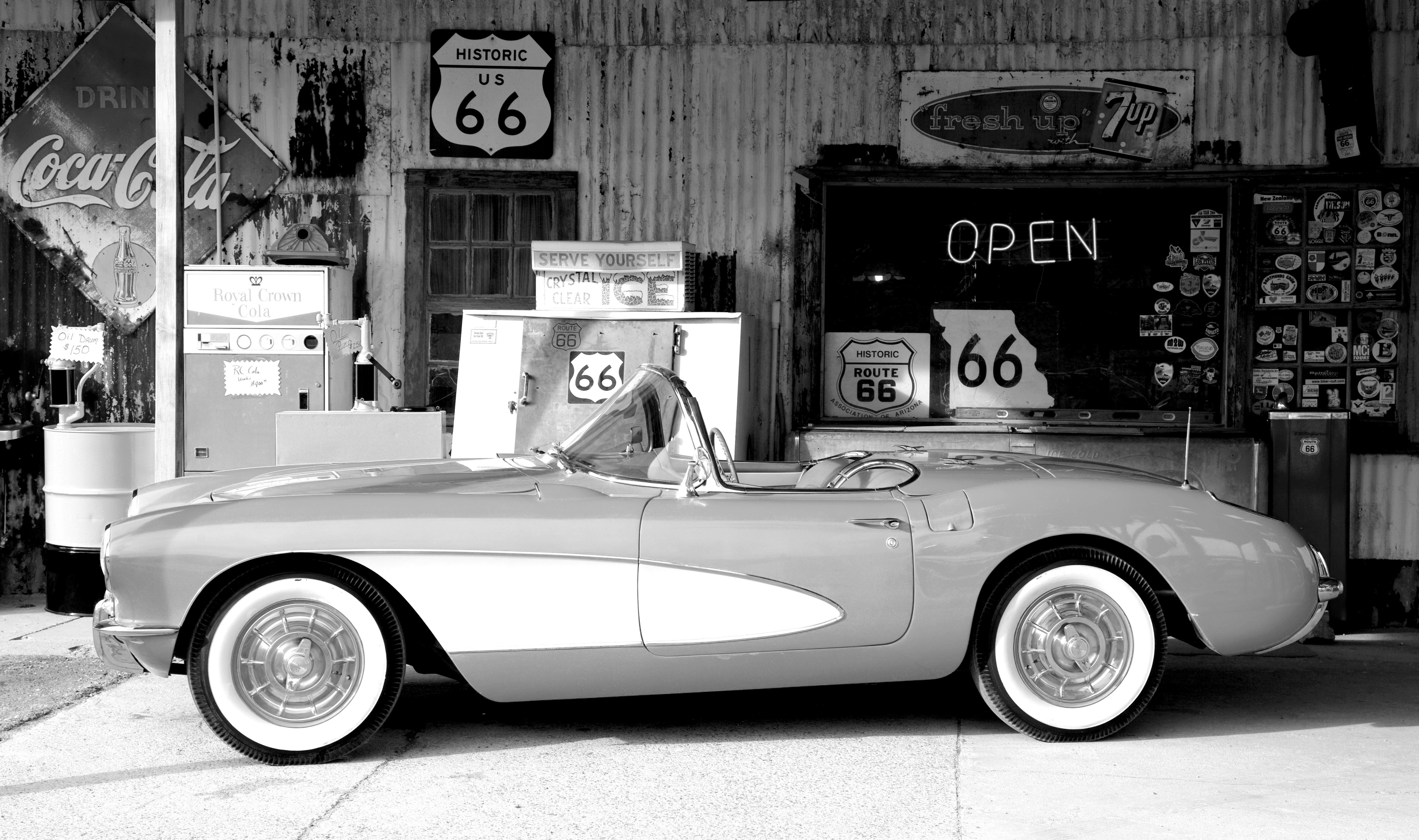 Images gratuites noir et blanc cru r tro vieux - Image de vieille voiture ...