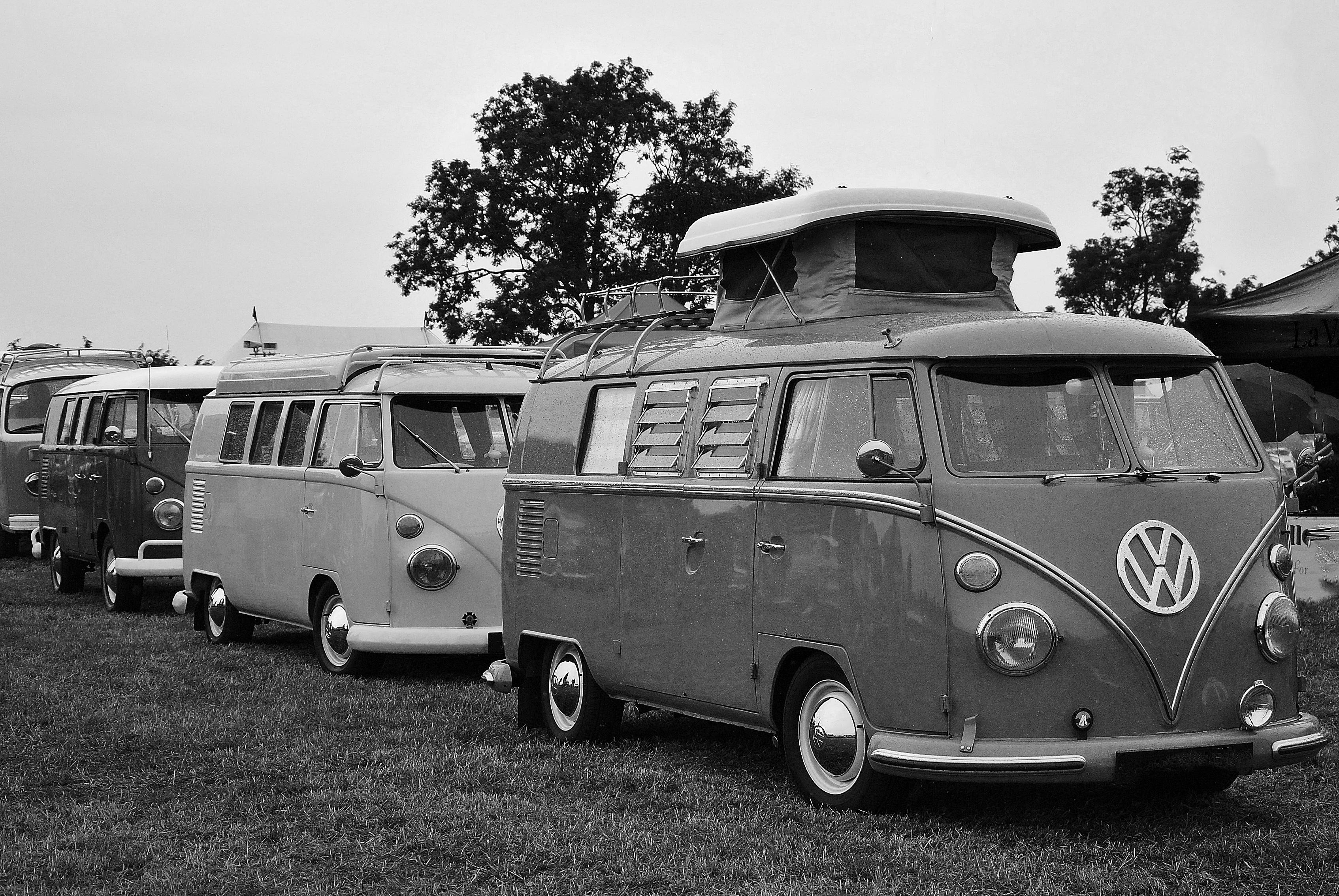 Images Gratuites Noir Et Blanc Cru Wagon Retro Vw Van