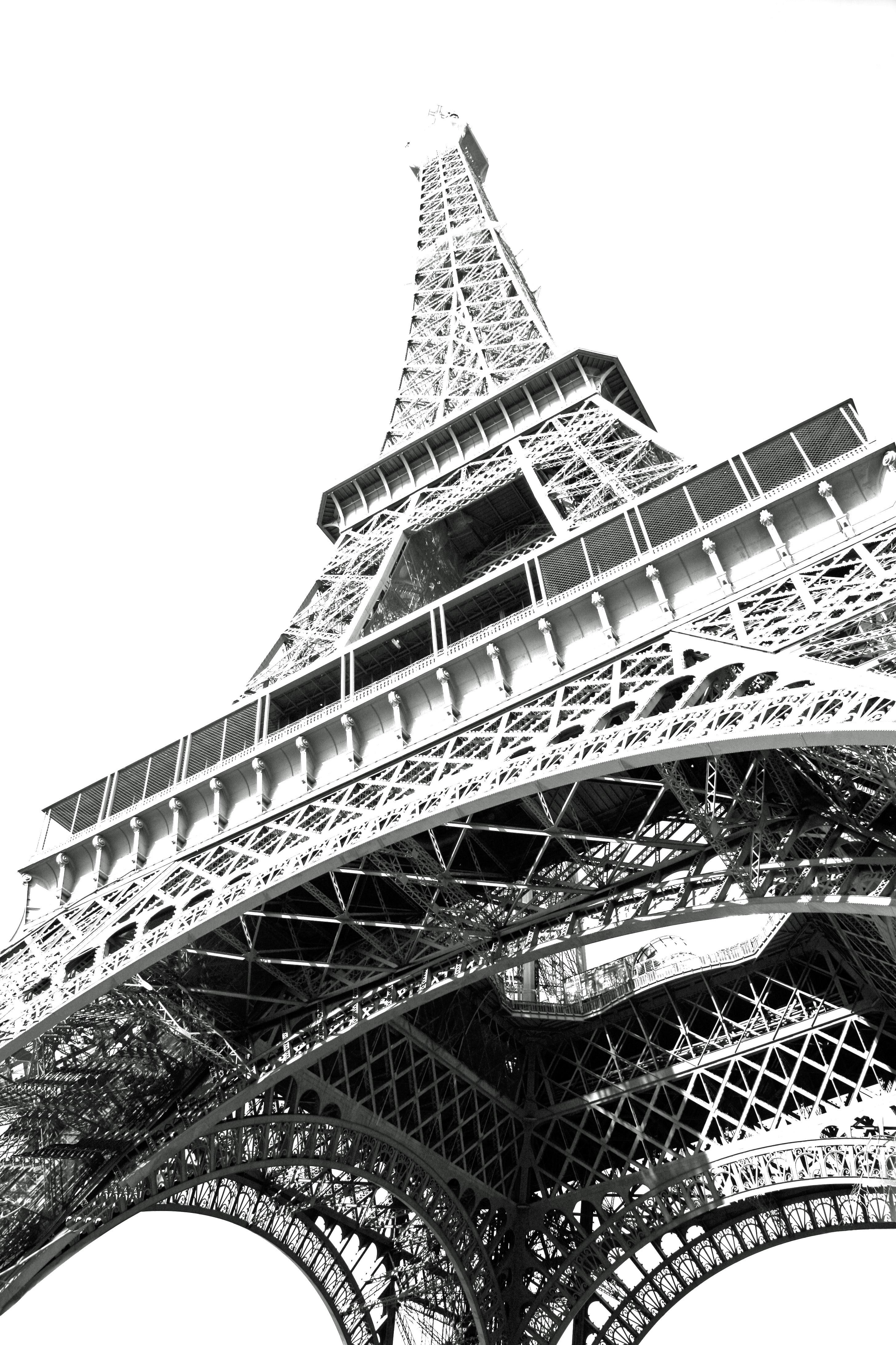 Download Gambar Sketsa Pemandangan Menara Eiffel