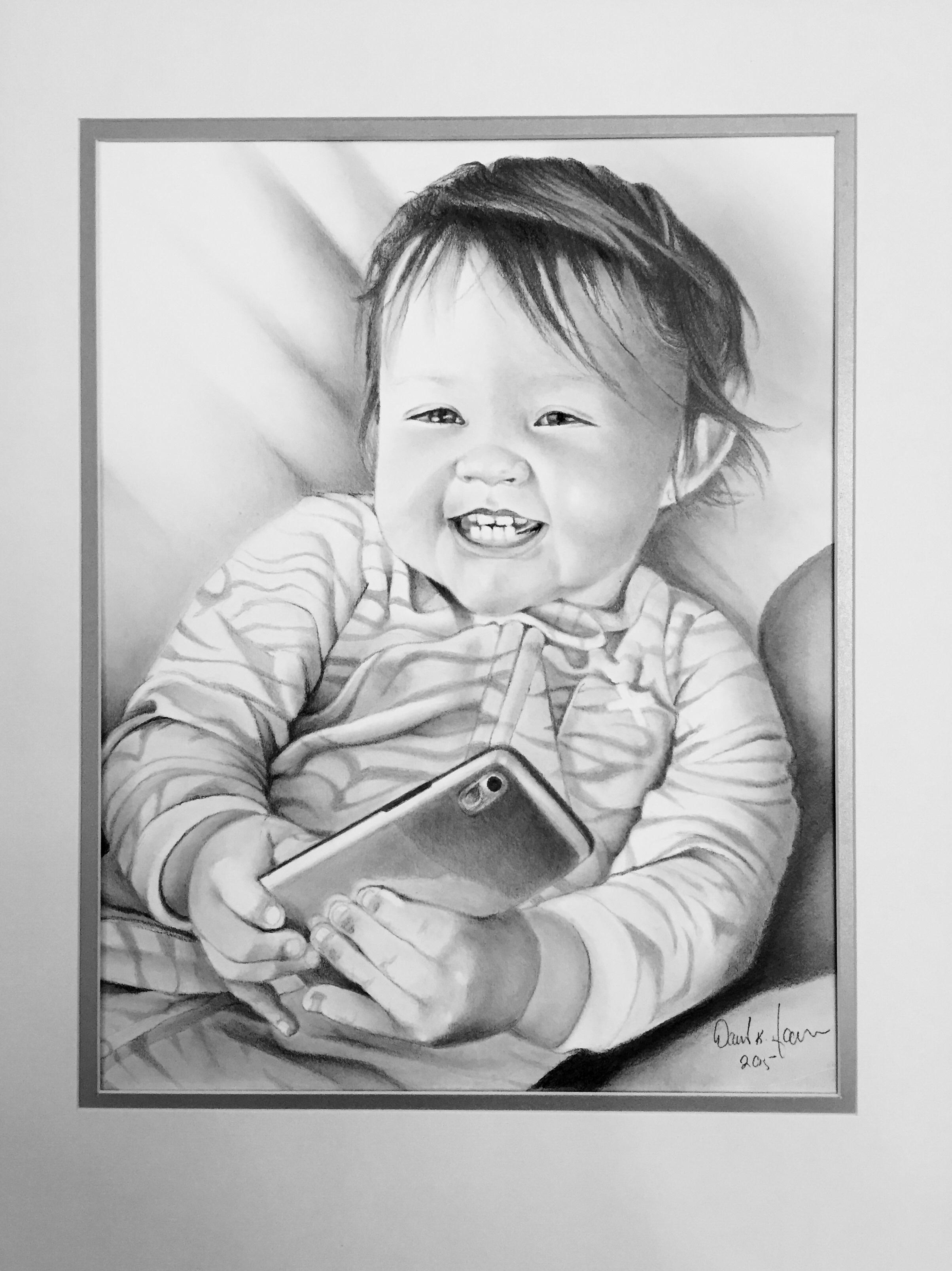 Gambar Hitam Dan Putih Gadis Imut Anak Satu Warna