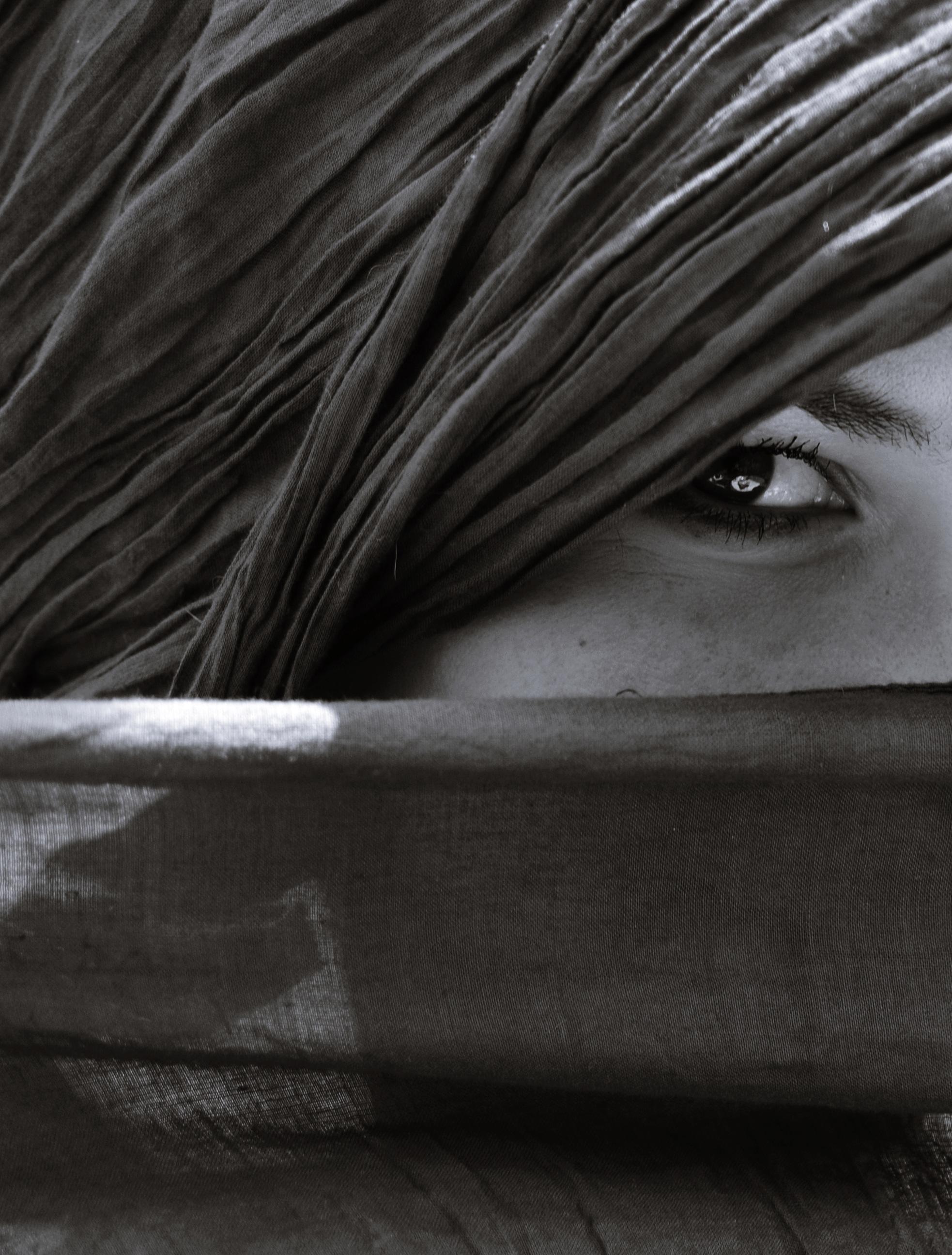 Gambar Hitam Dan Putih Gadis Wanita Kulit Bulu Coklat