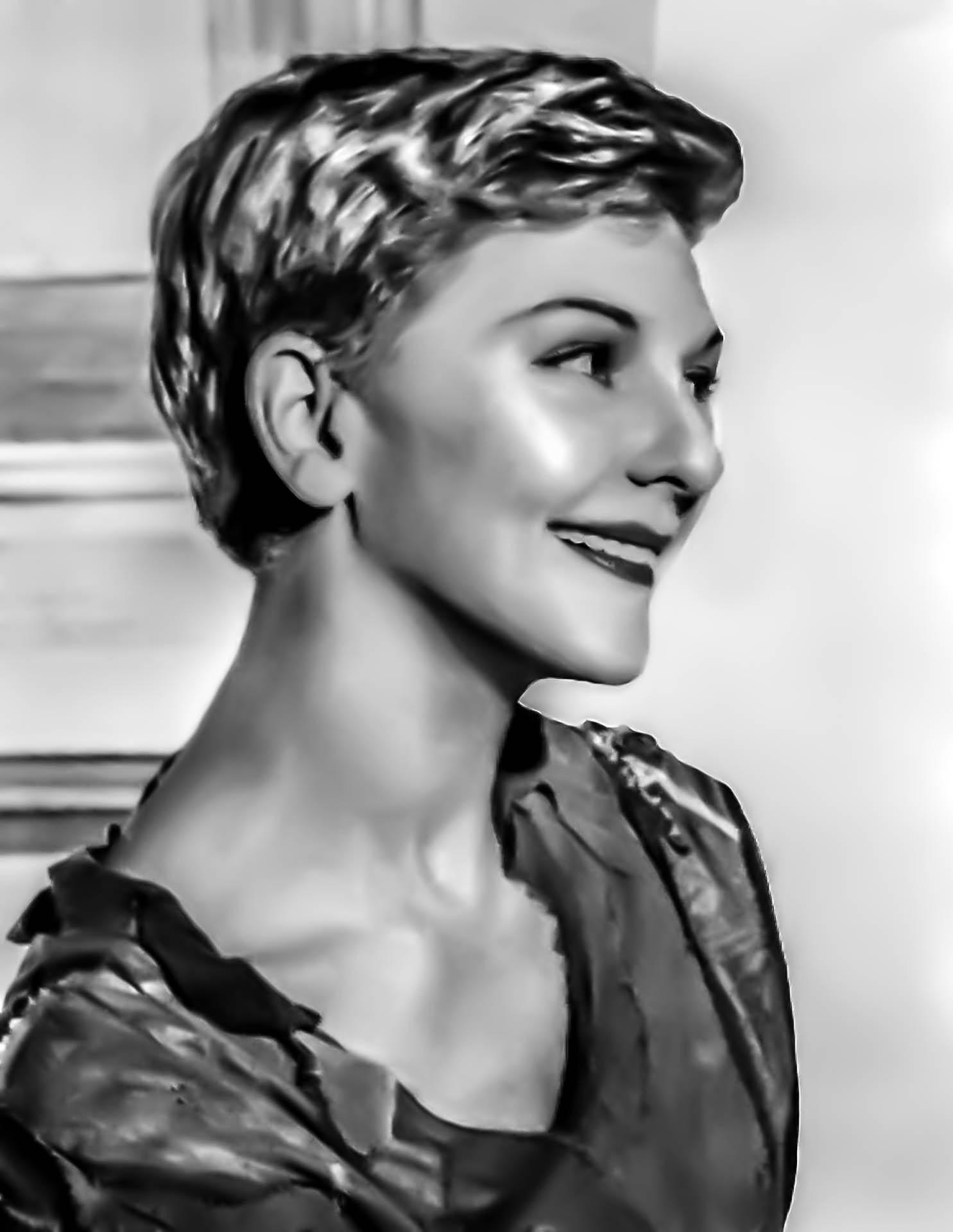 Fotoğraf Siyah Ve Beyaz Film Hollywood Portre Model Moda Tek