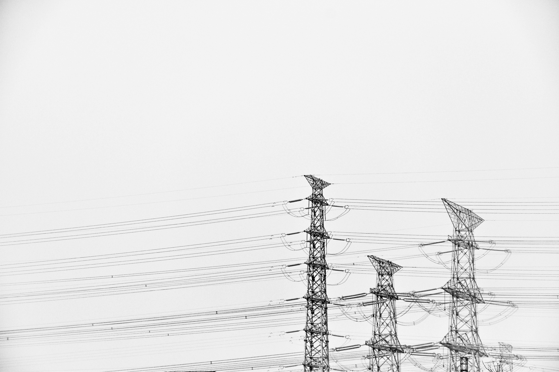 Fotos Gratis En Blanco Y Negro Línea Torre Mástil