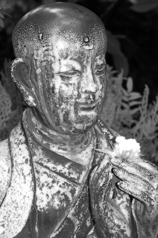 Images Gratuites Noir Et Blanc Monument Asiatique Statue