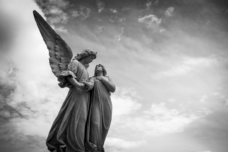 Pace Bianco E Nero immagini belle : bianco e nero, monumento, statua, amore