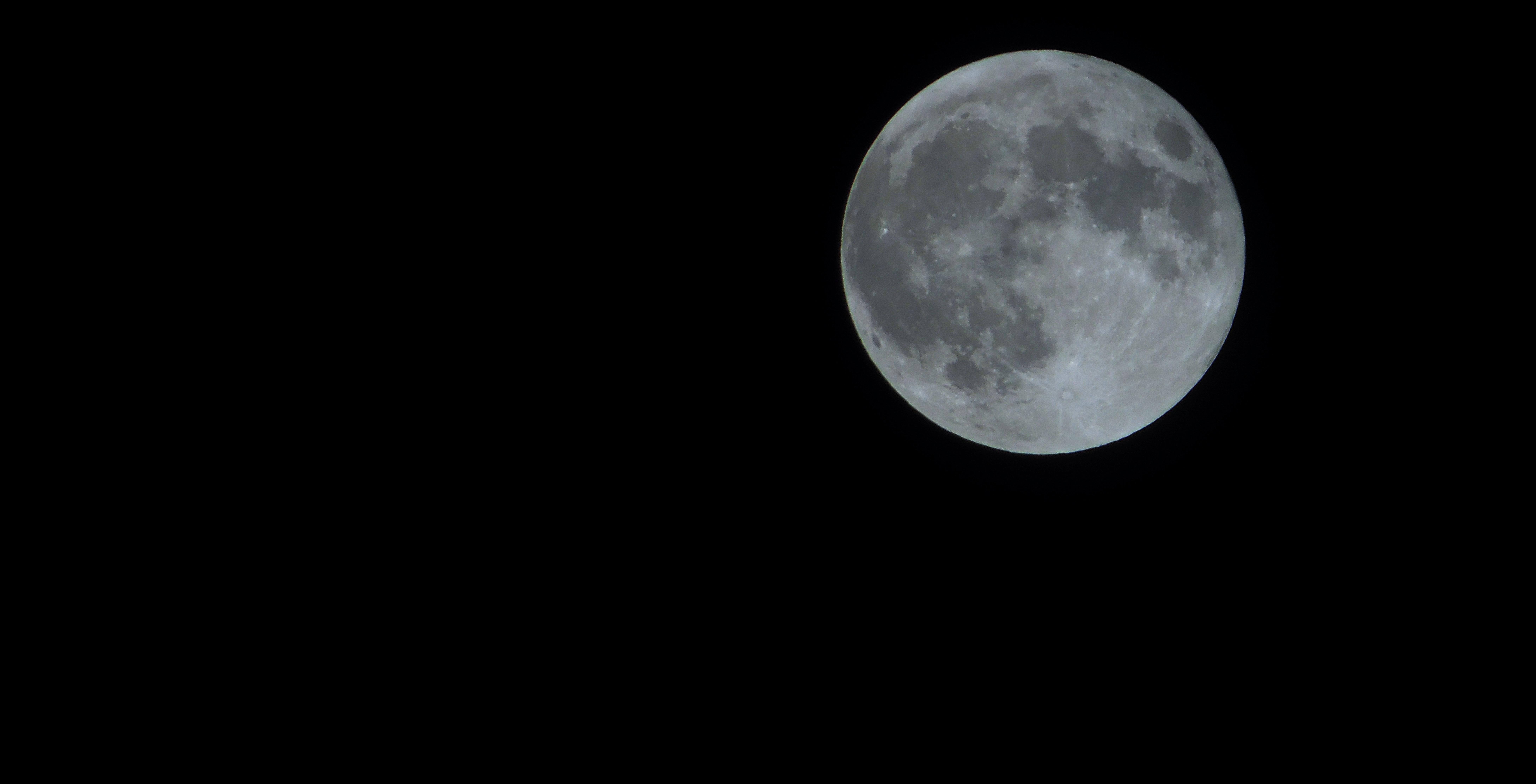 Gambar : hitam dan putih, malam, suasana, bulan purnama ...
