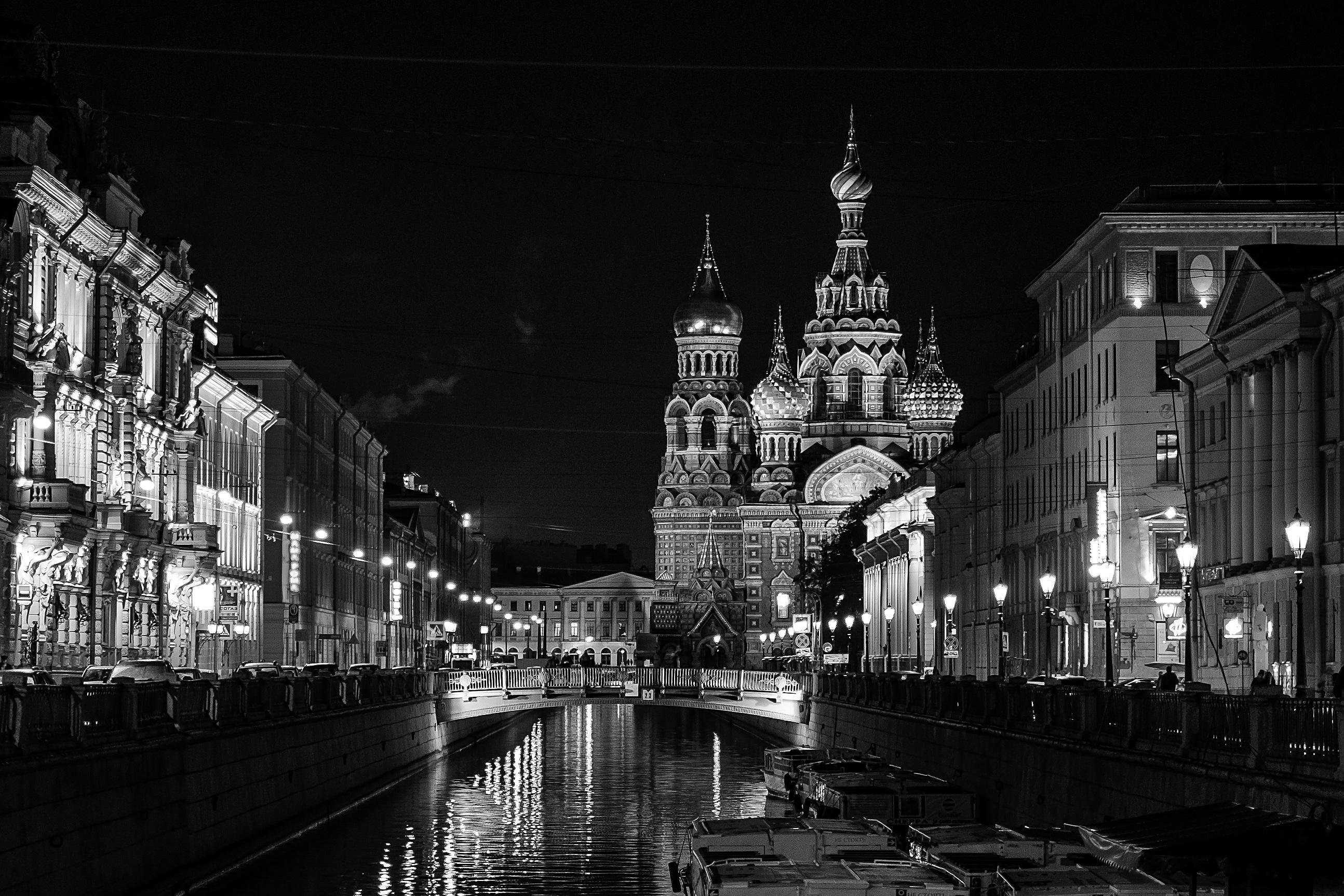 images gratuites noir et blanc nuit la photographie ville canal paysage urbain soir. Black Bedroom Furniture Sets. Home Design Ideas