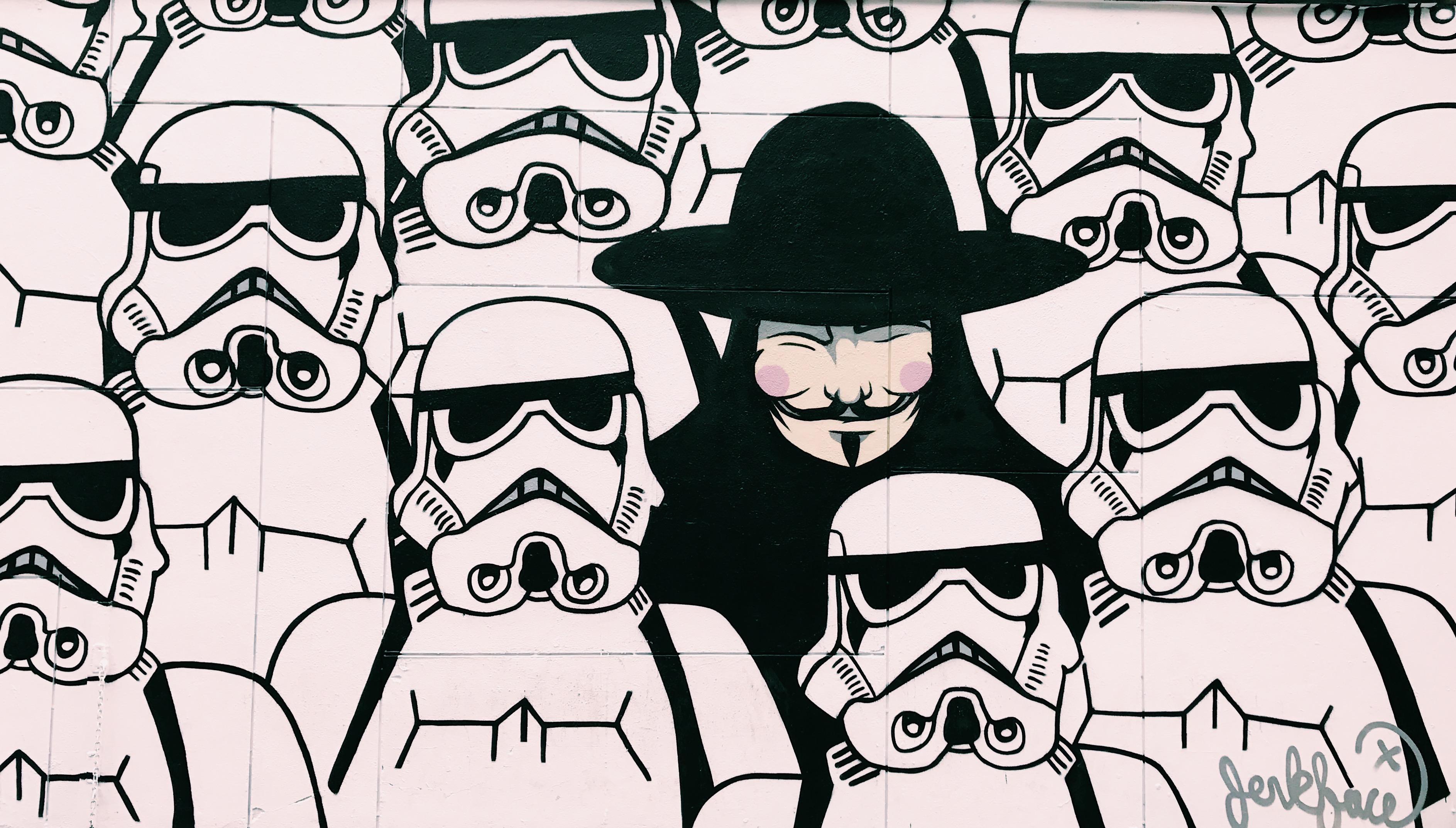 Gambar  Kartun Polisi Nembak Wallpaper