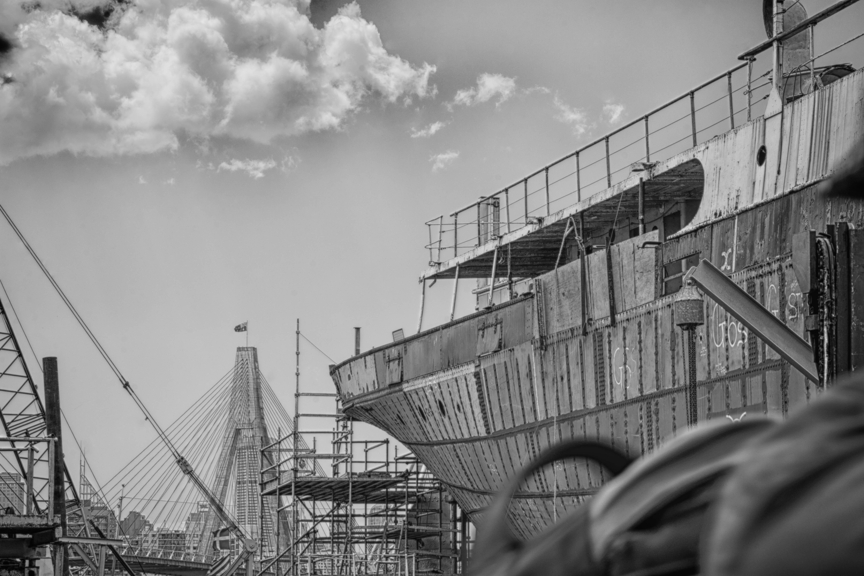 Black And White Photography City Ship Cityscape Transport Construction Vehicle Sydney Industry Nikon Monochrome Australia Nsw