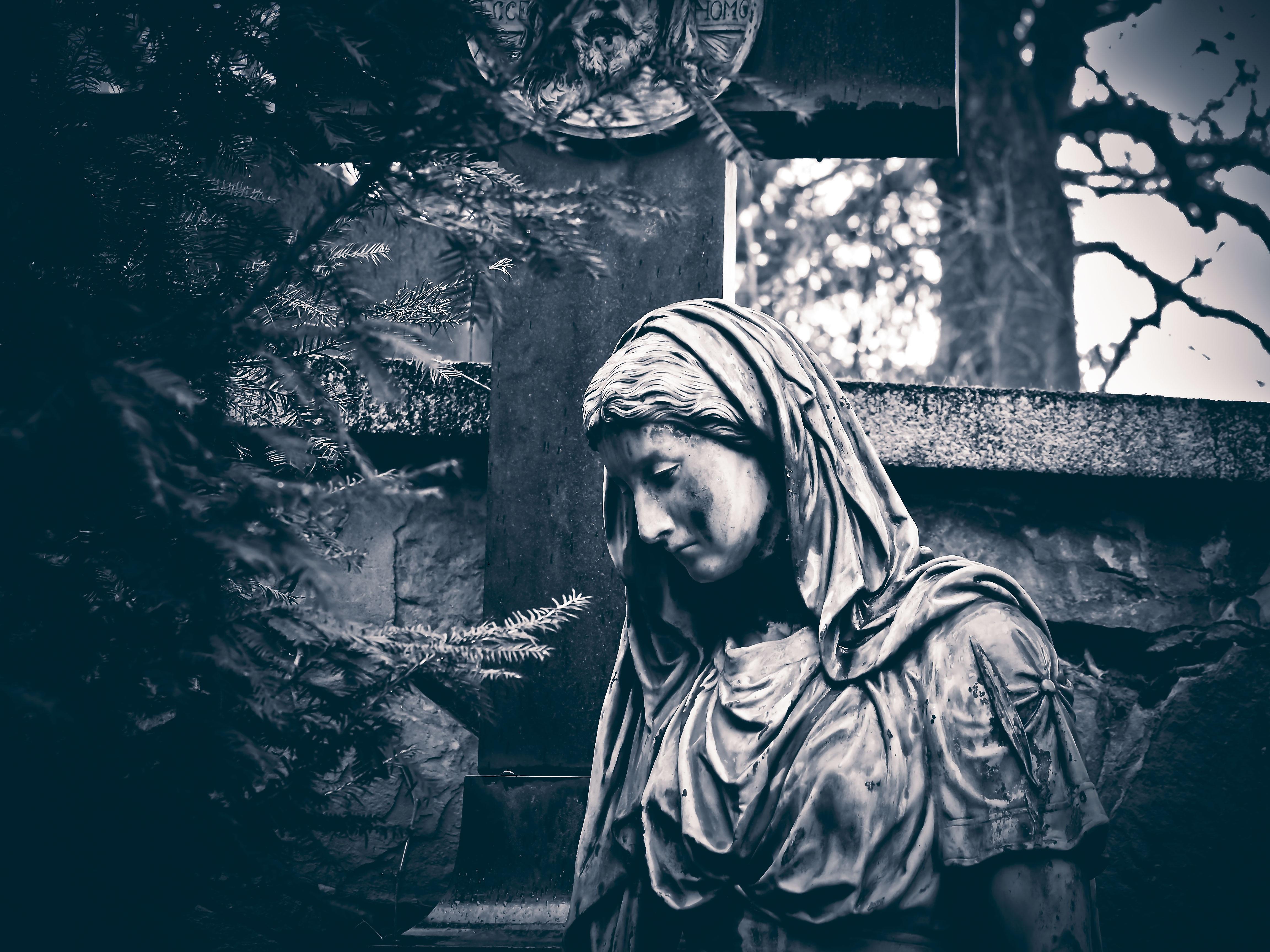 Free images black and white dark statue portrait darkness