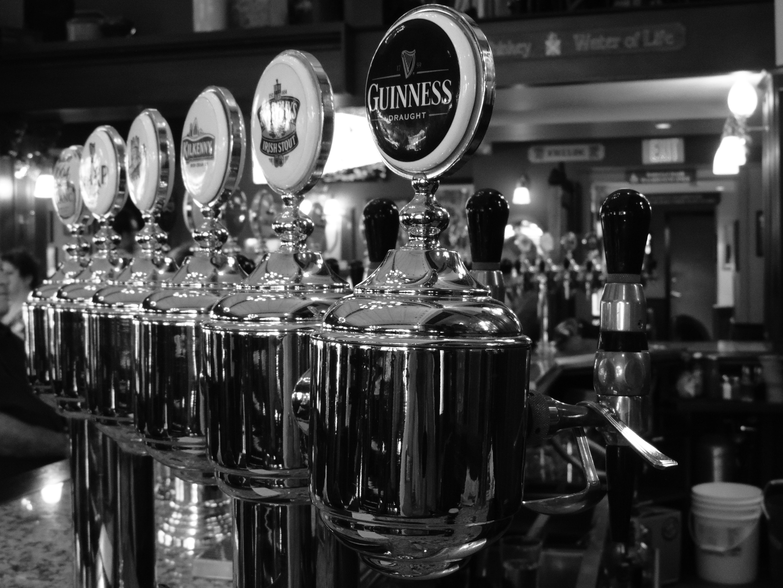 Free Images : black and white, restaurant, bar, beverage, drink ...