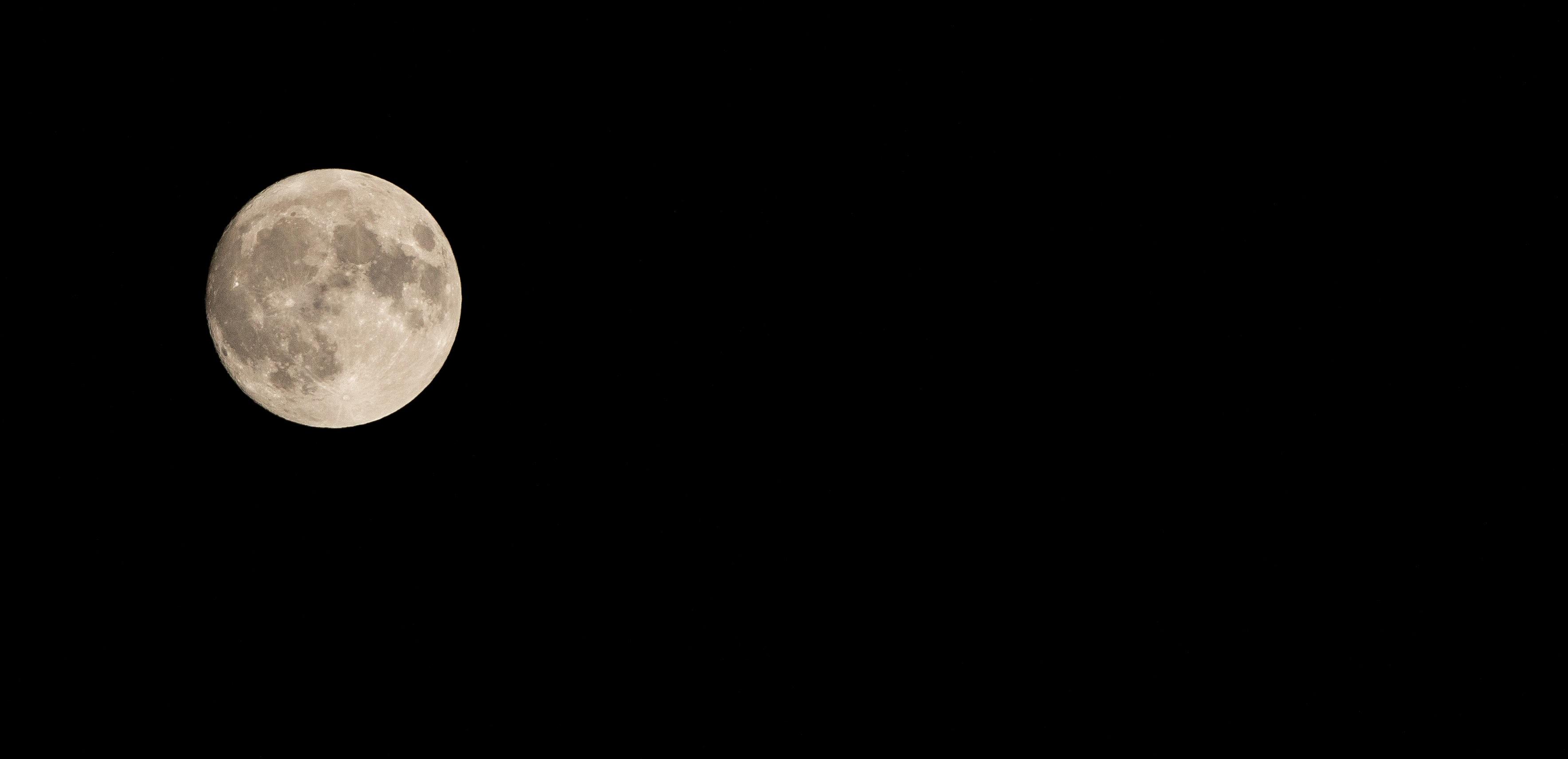 Bien-aimé Images Gratuites : noir et blanc, ciel, nuit, atmosphère, pleine  JV01