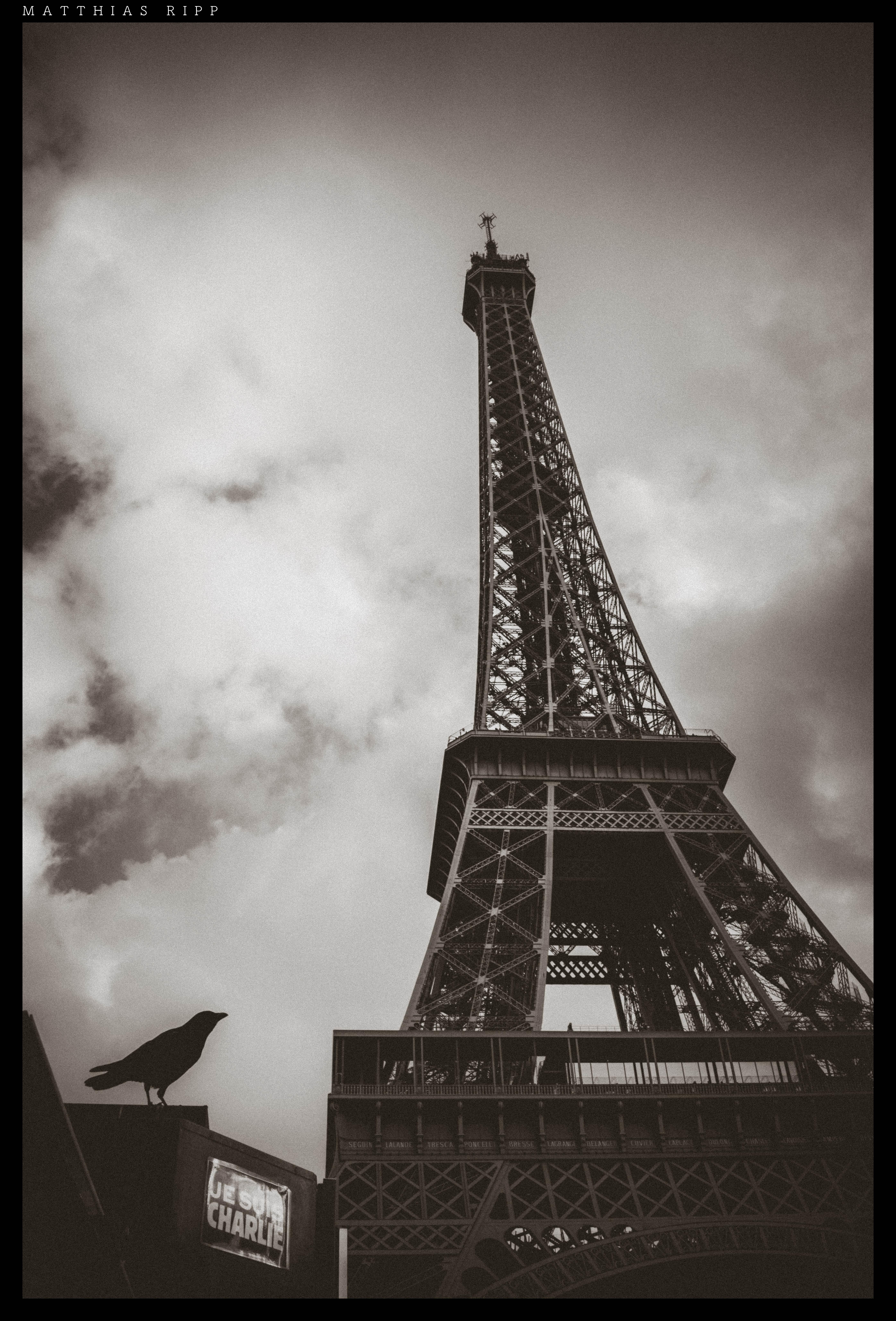 Free Images : black and white, sky, street, city, paris, skyscraper ...
