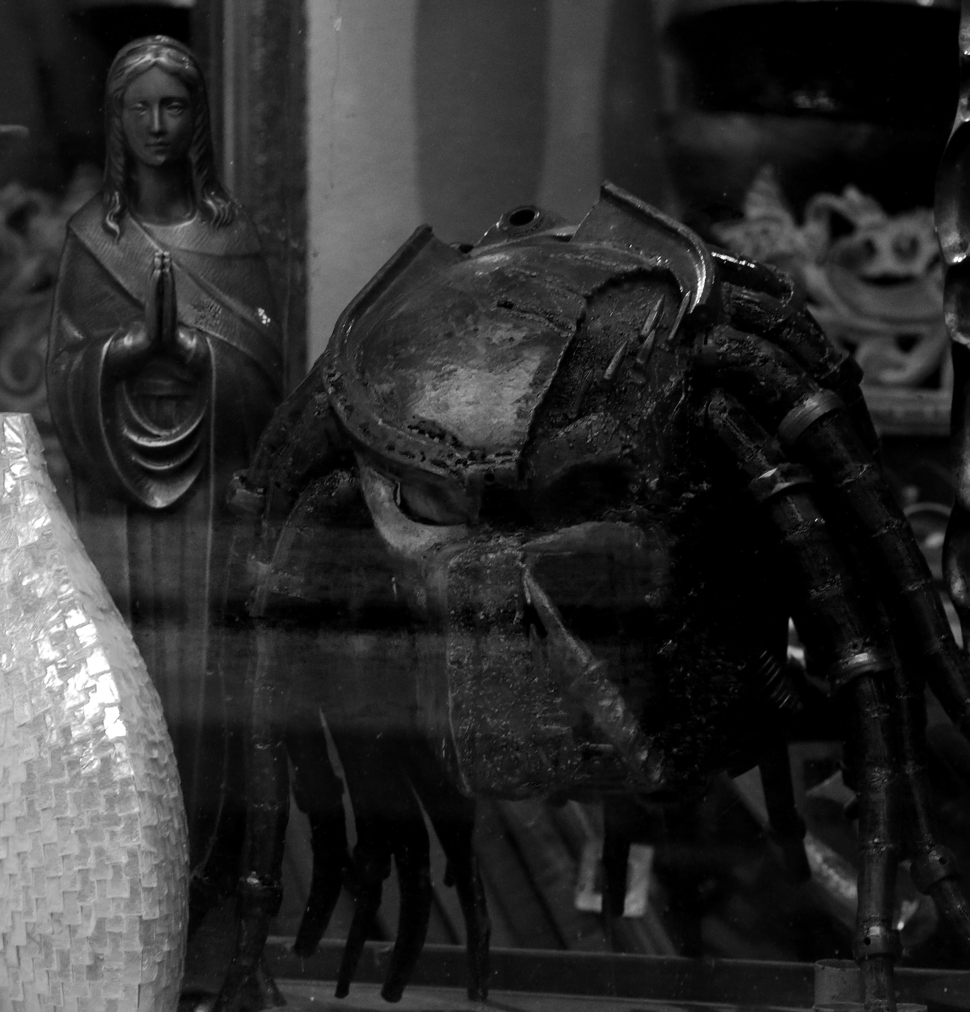 Fotografie Heidelberg kostenlose foto schwarz und weiß statue heidelberg dunkelheit