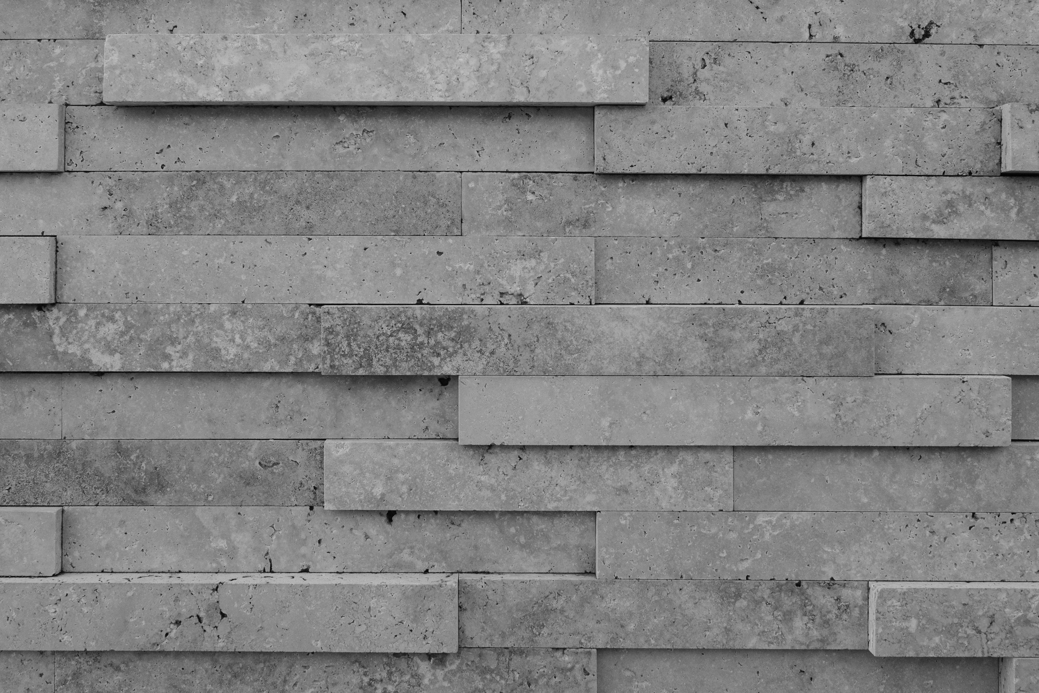 Stenen Muur Wit : Gratis afbeeldingen zwart en wit structuur hout verdieping