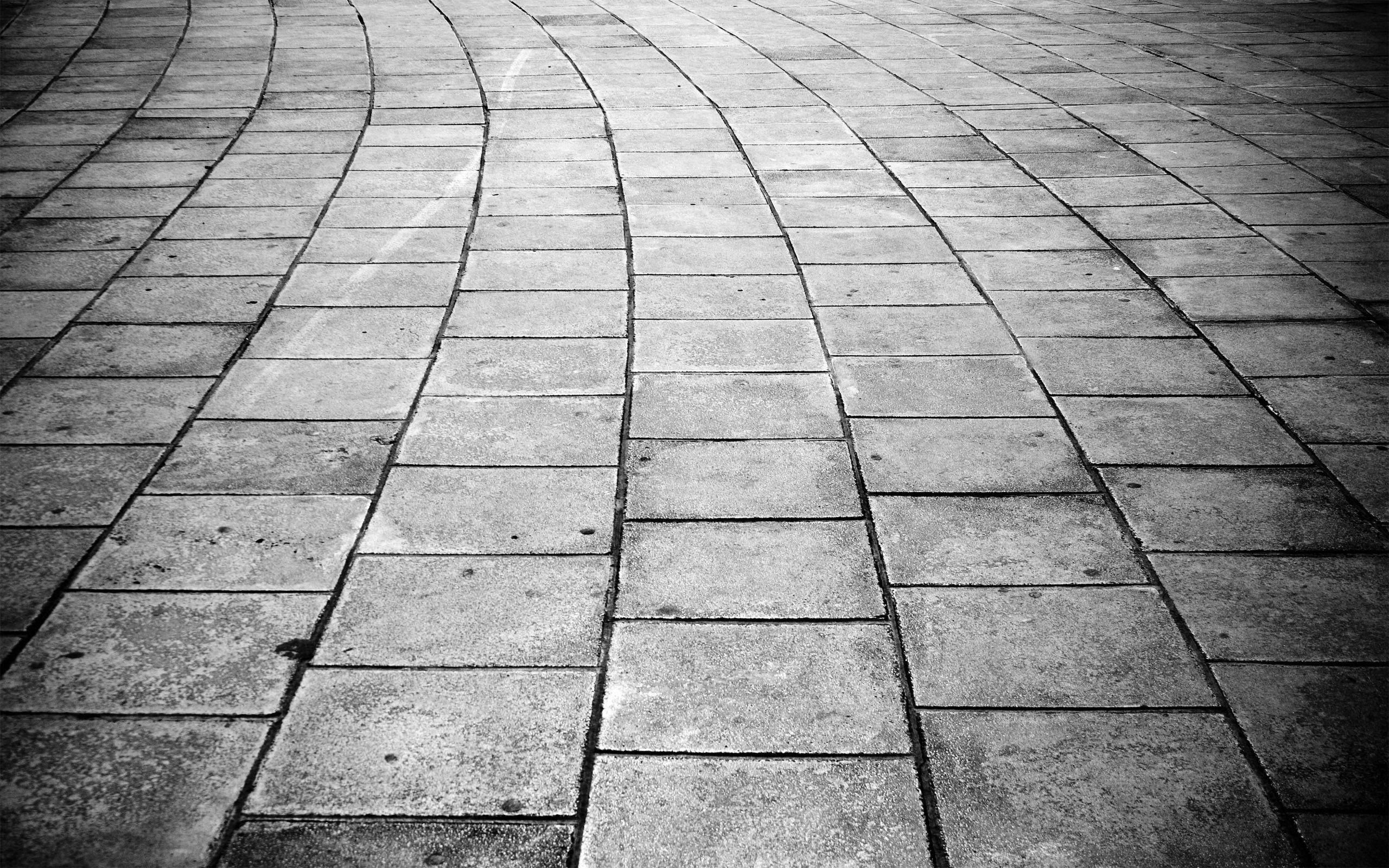 Fotos gratis en blanco y negro pista textura acera for Suelo 3d blanco