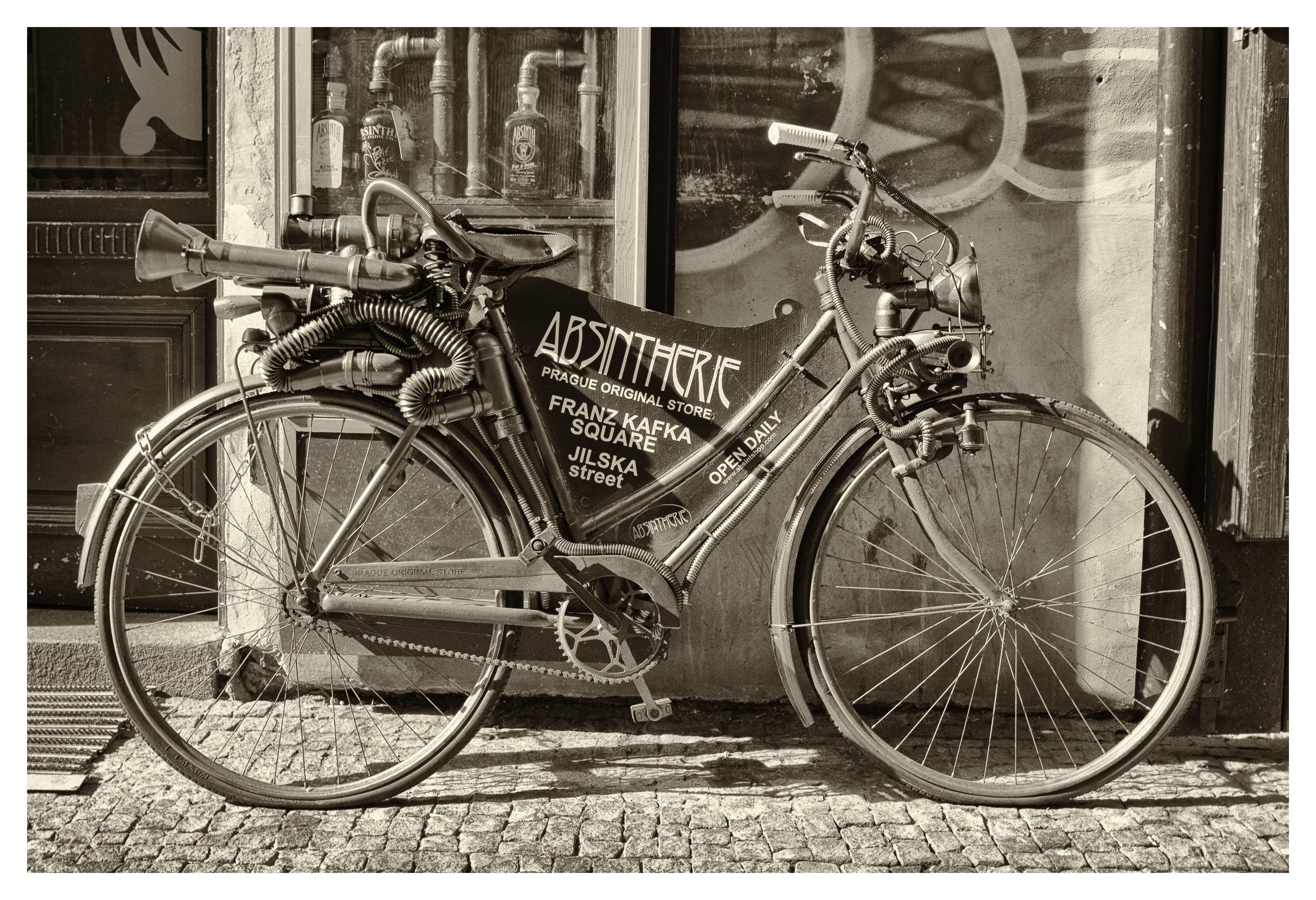 новом черно белые ретро фото велосипеды фото