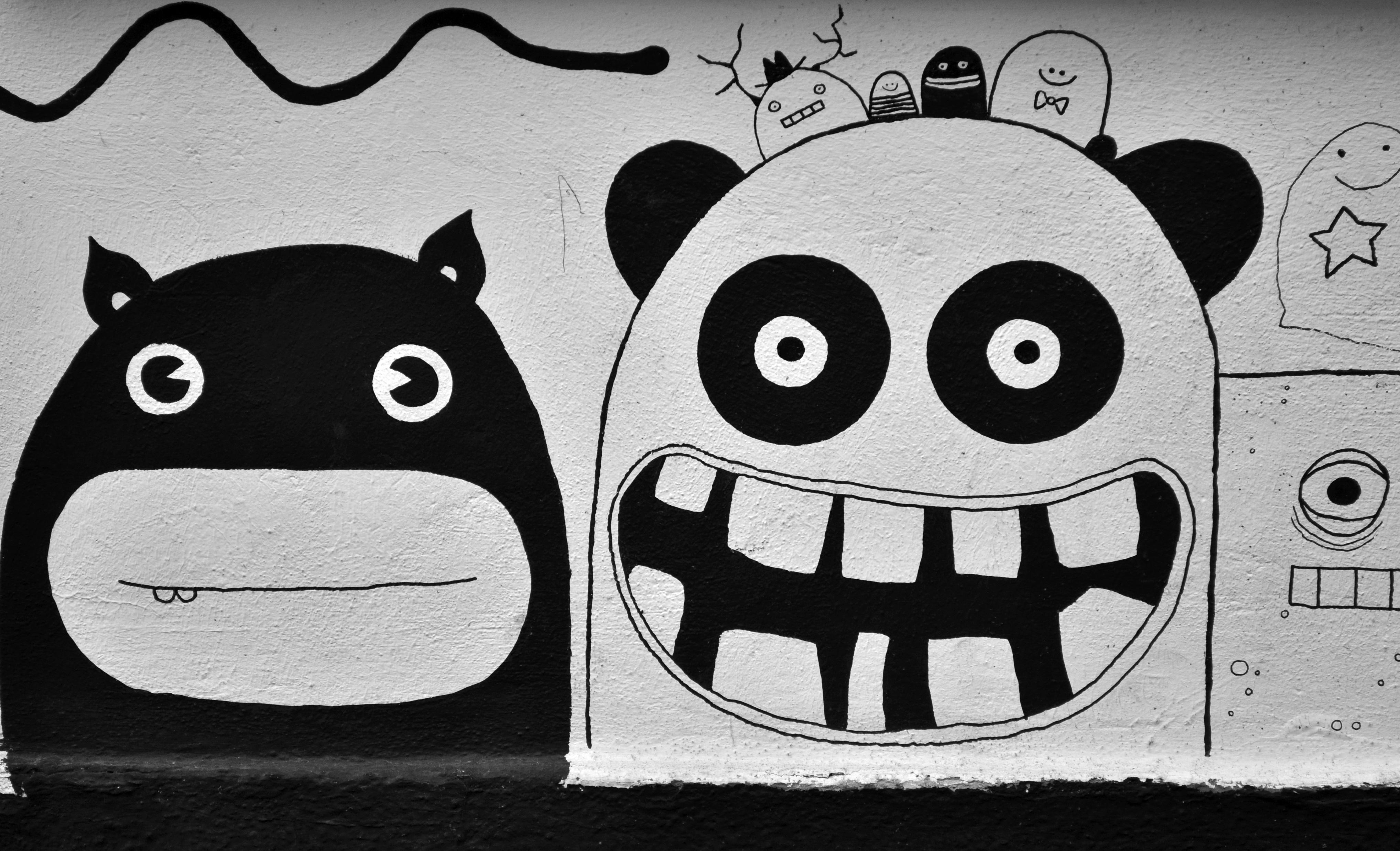 Banco De Imagens Preto E Branco Monocromático Grafite