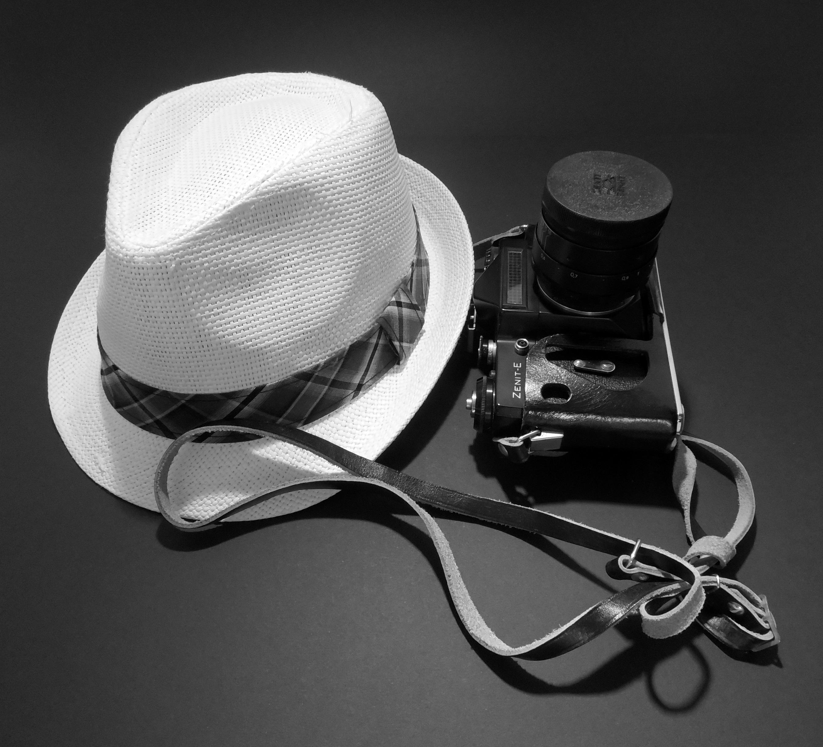 99de892fd3790 black and white white camera vintage retro hat nostalgia clothing black  monochrome straw hat product glasses