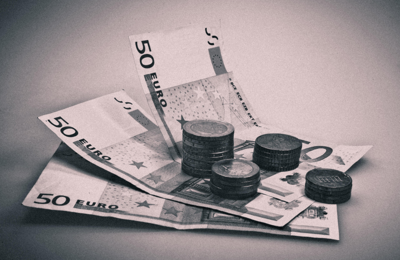 euro blanco negro