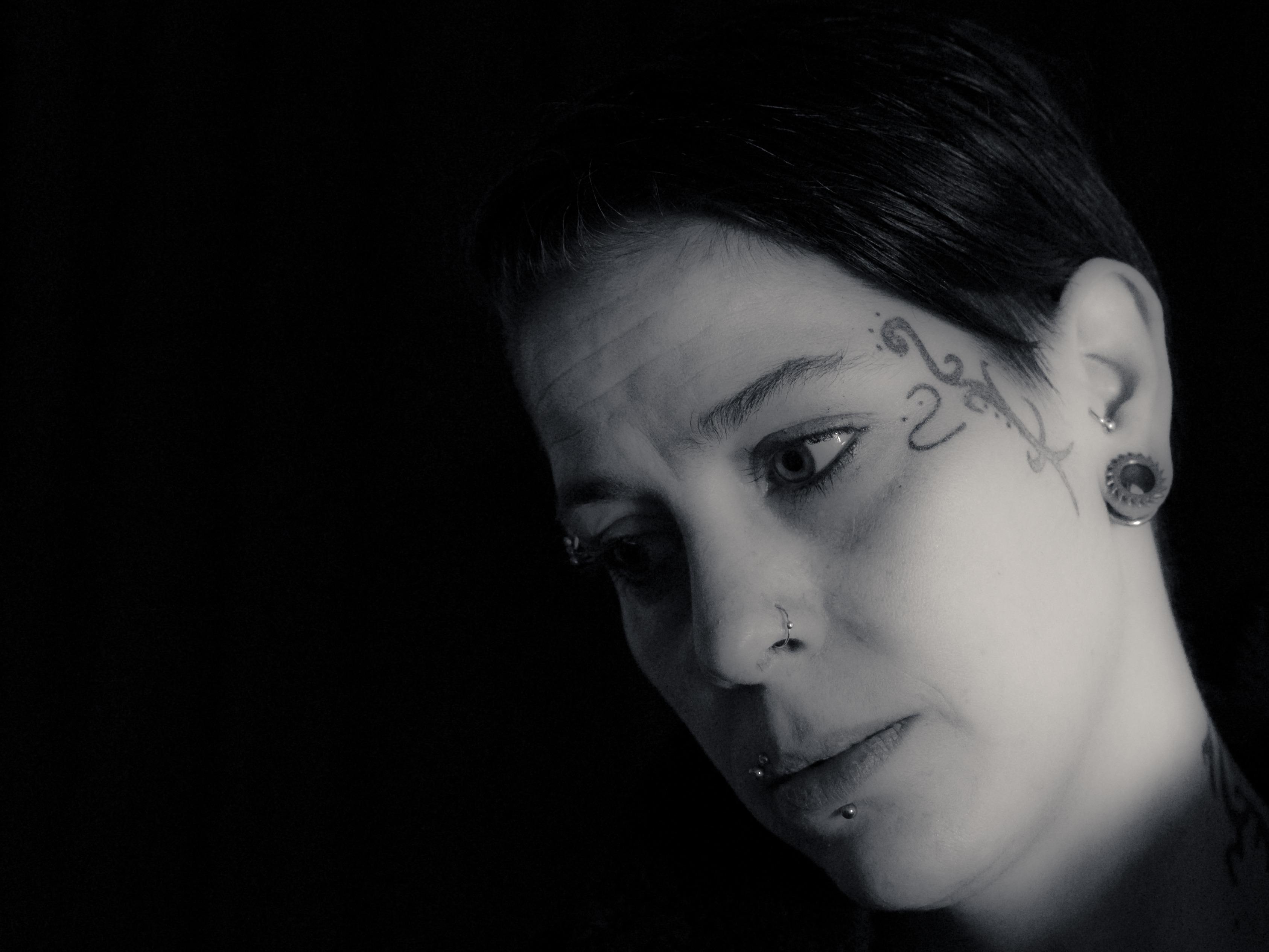 Images Gratuites Noir Et Blanc Femme La Photographie Tatouage
