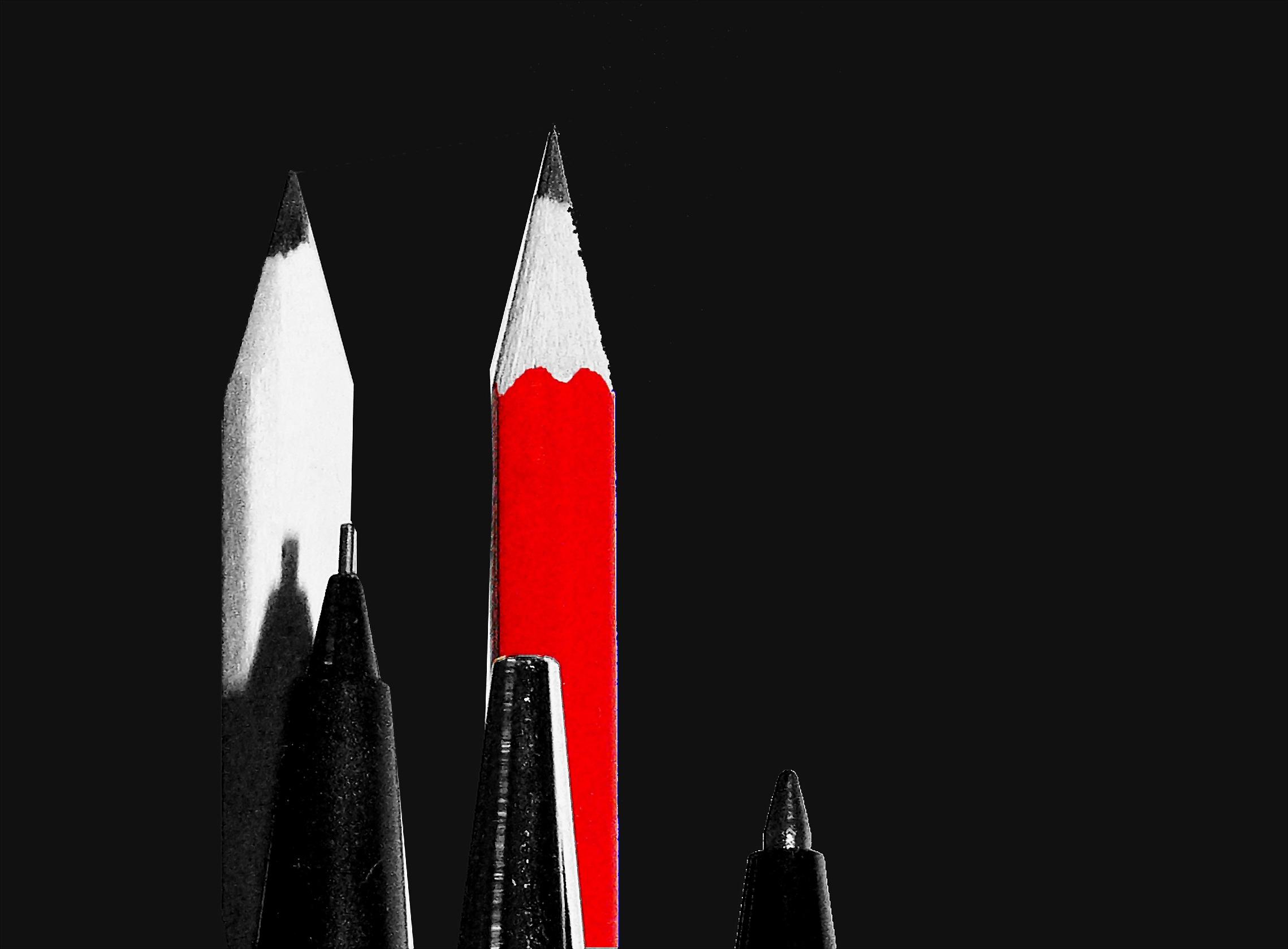 Gambar Hitam Dan Putih Kayu Merah Bendera Cat Kegelapan Satu