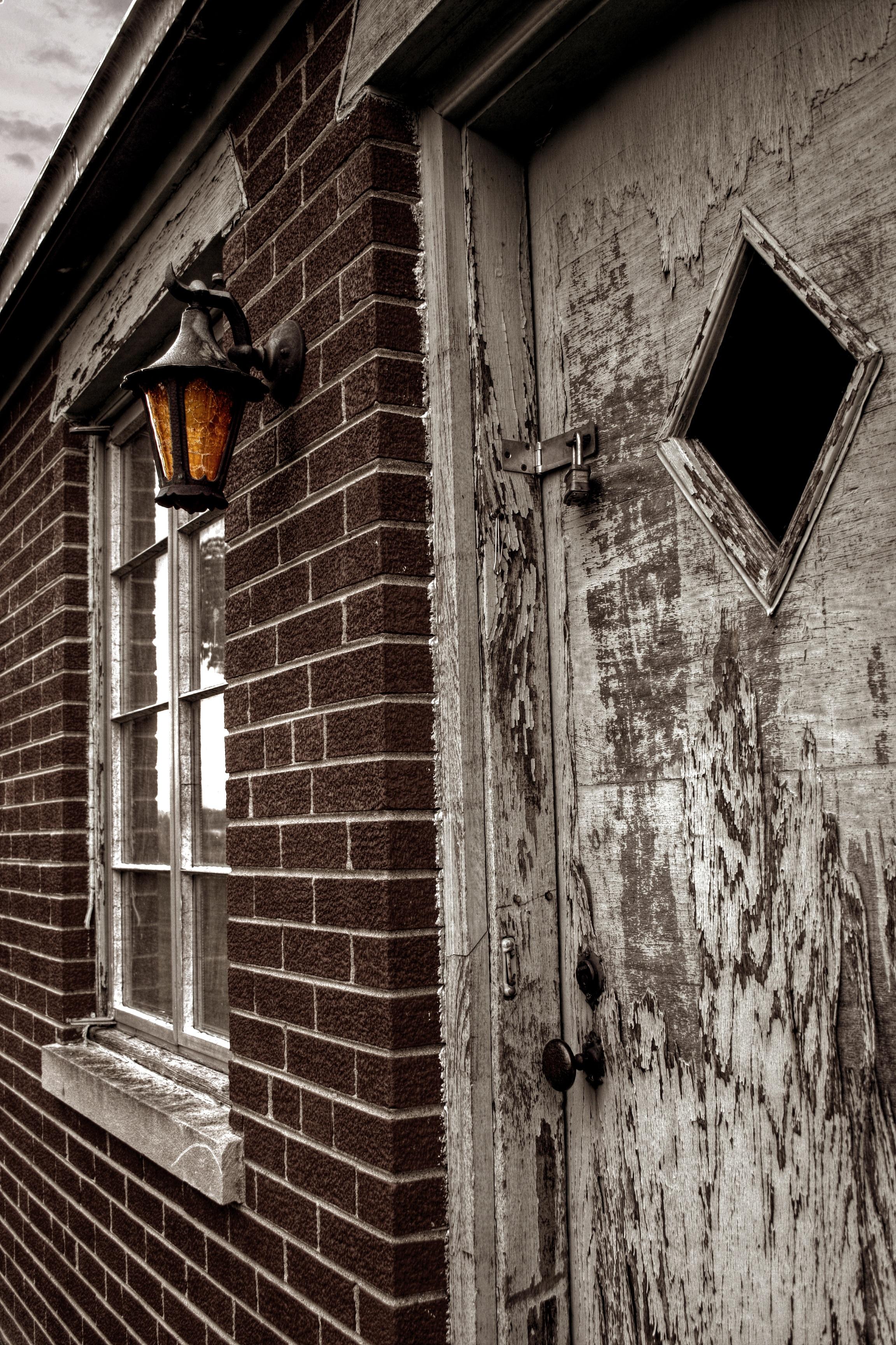 Dark Wood Doors