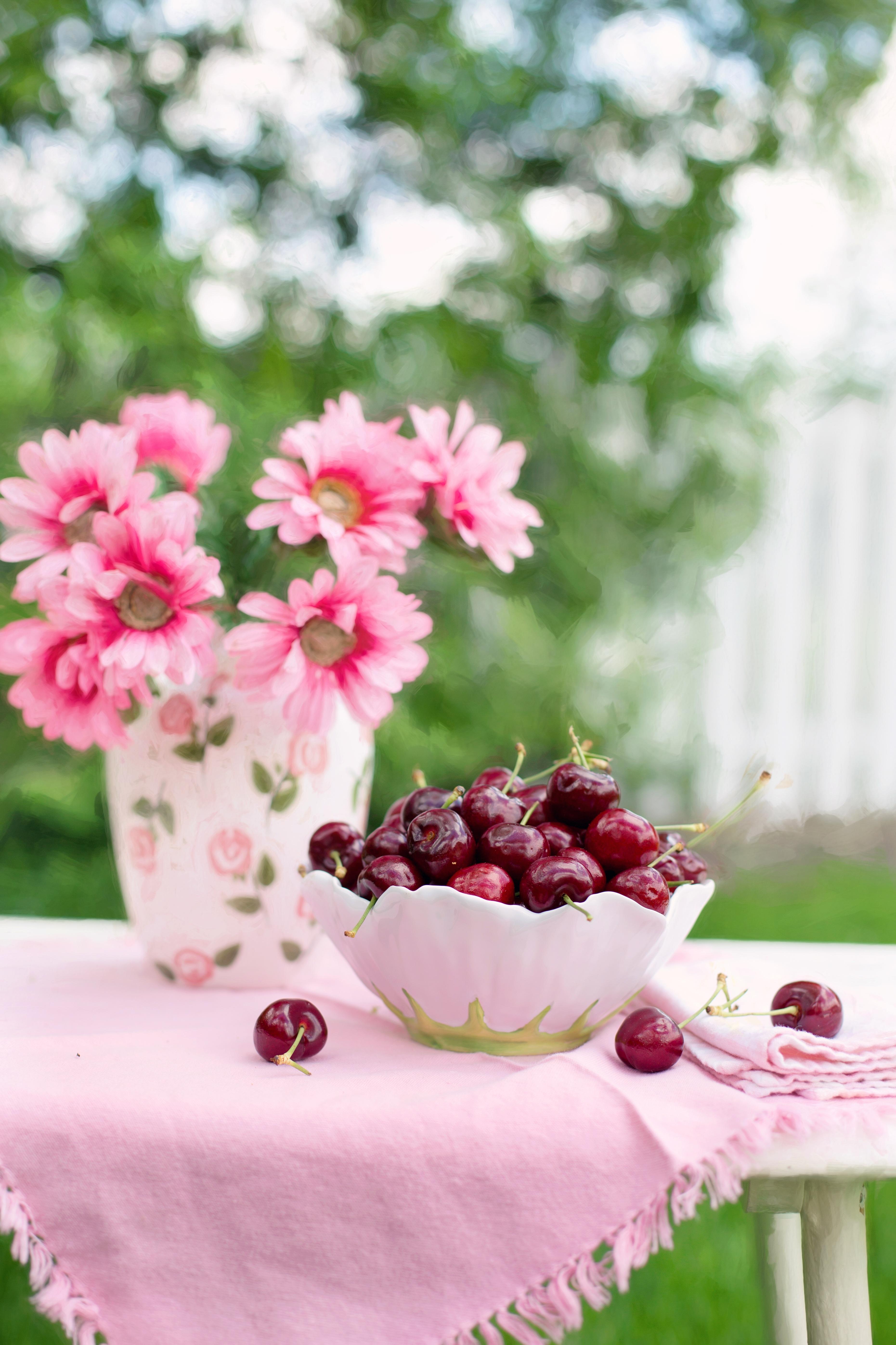 Картинки надписями, красивые открытки еда и цветы