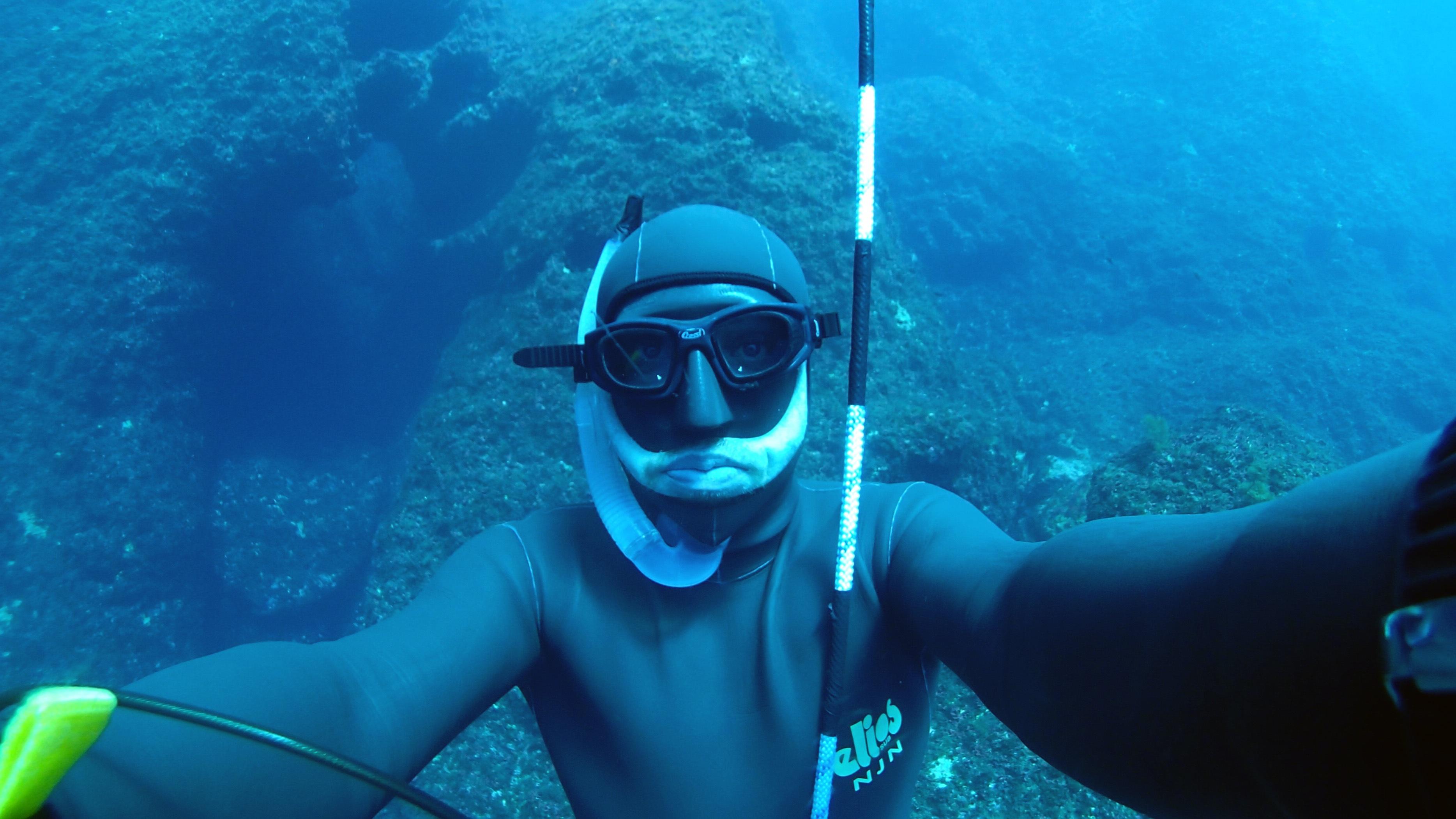 Free images blue deep diving deep ocean dive passion - Dive deep blue ...