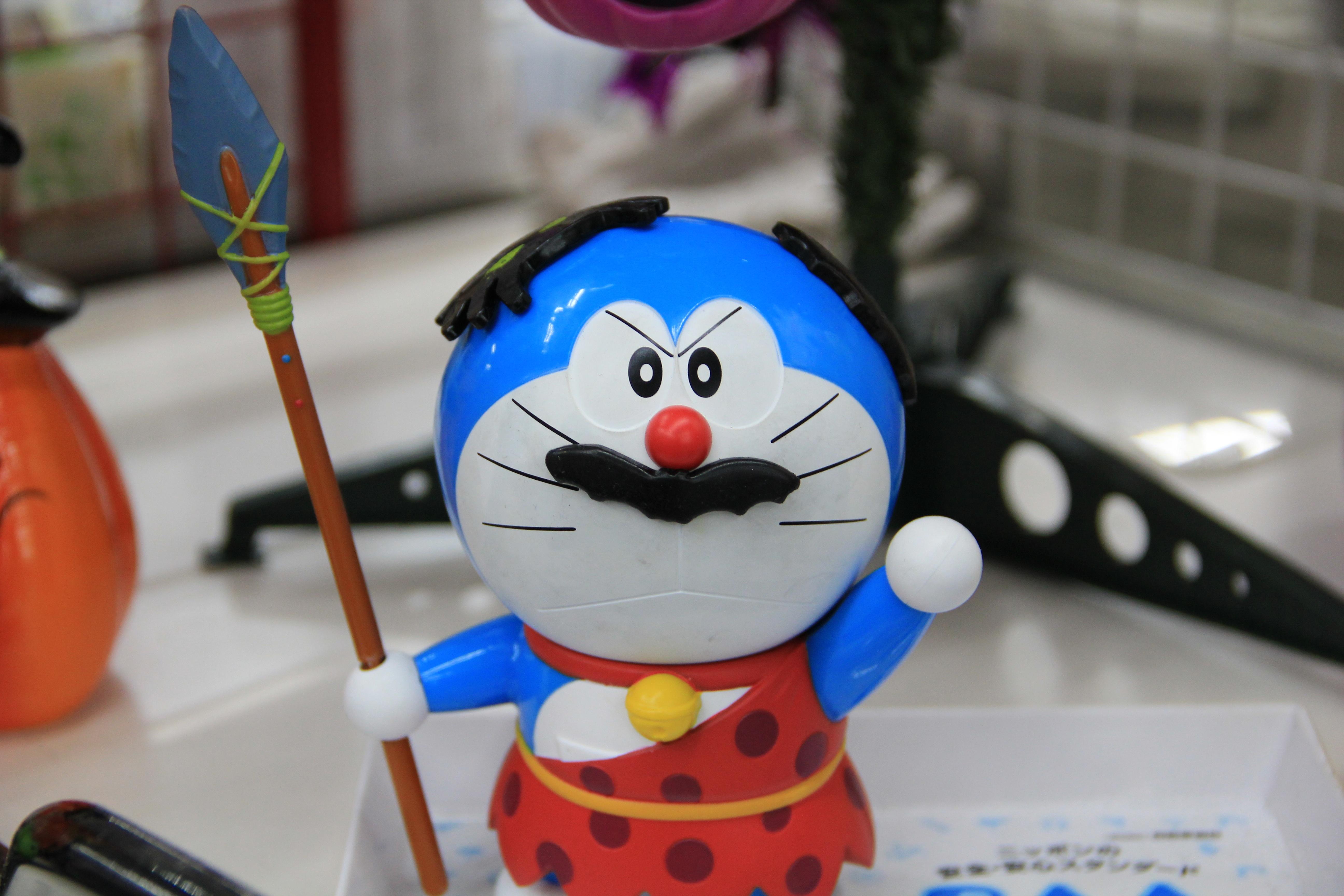 Blue Toy Anime Manga Doraemon Character Robotic Cat Stuffed