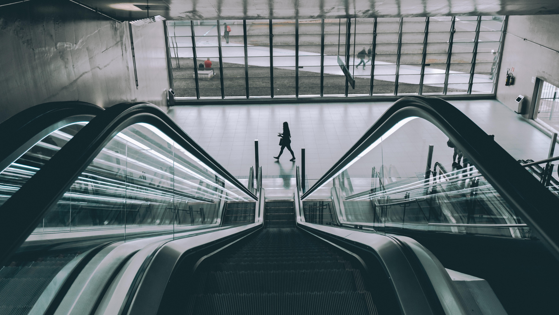 Stehlen Modern kostenlose foto verwischen die architektur menschen perspektive