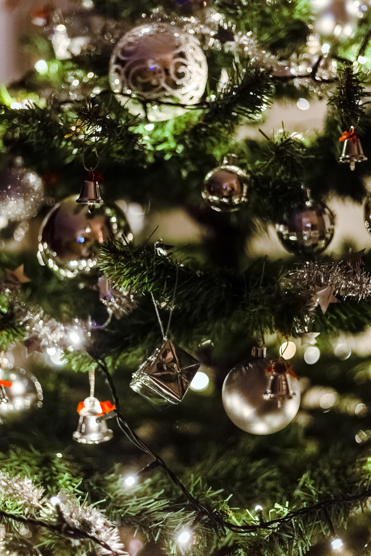 blur christmas background christmas balls christmas decorations christmas decors christmas lights christmas tree close up colors