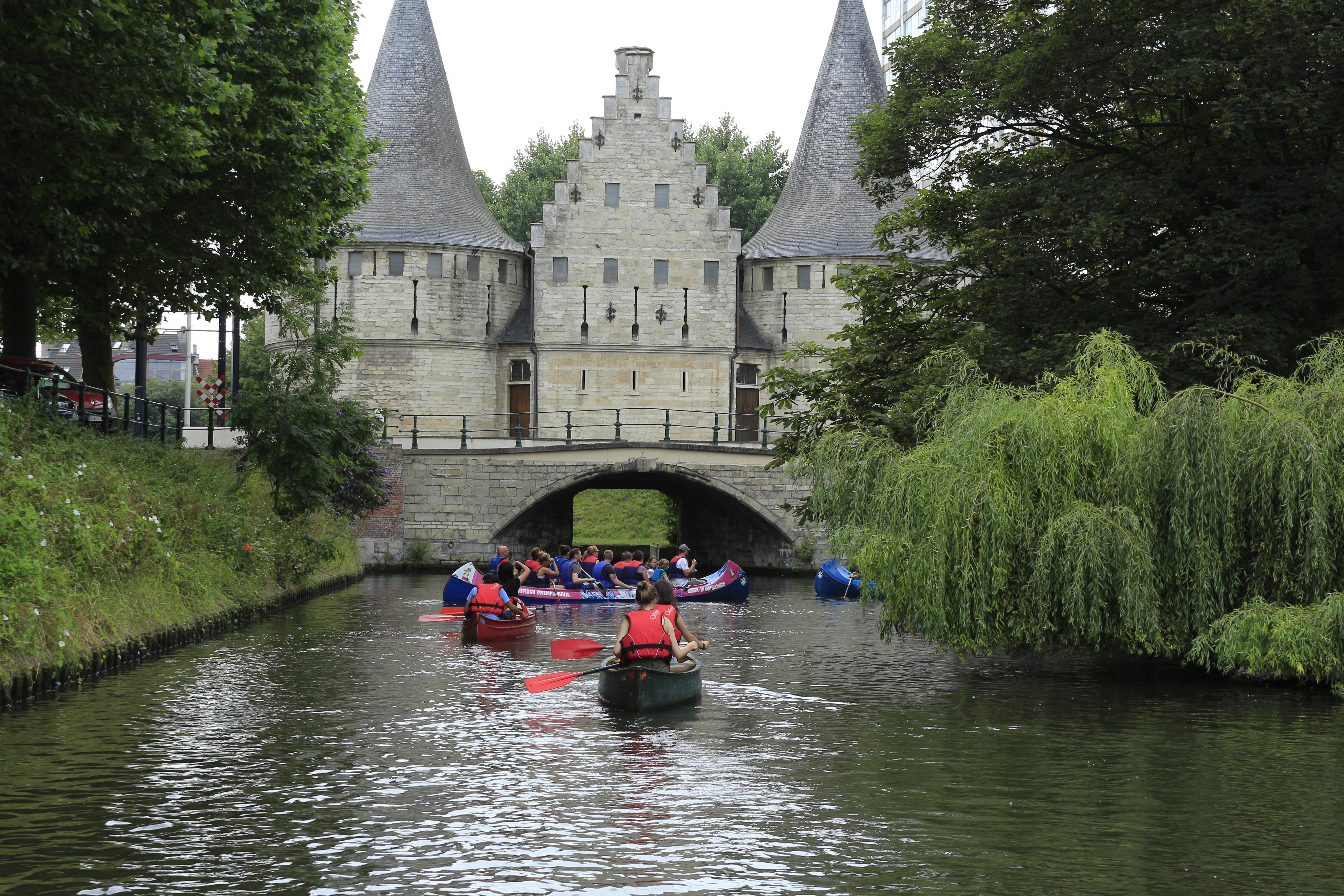 башня водный мост в бельгии фото точно знаем, каким