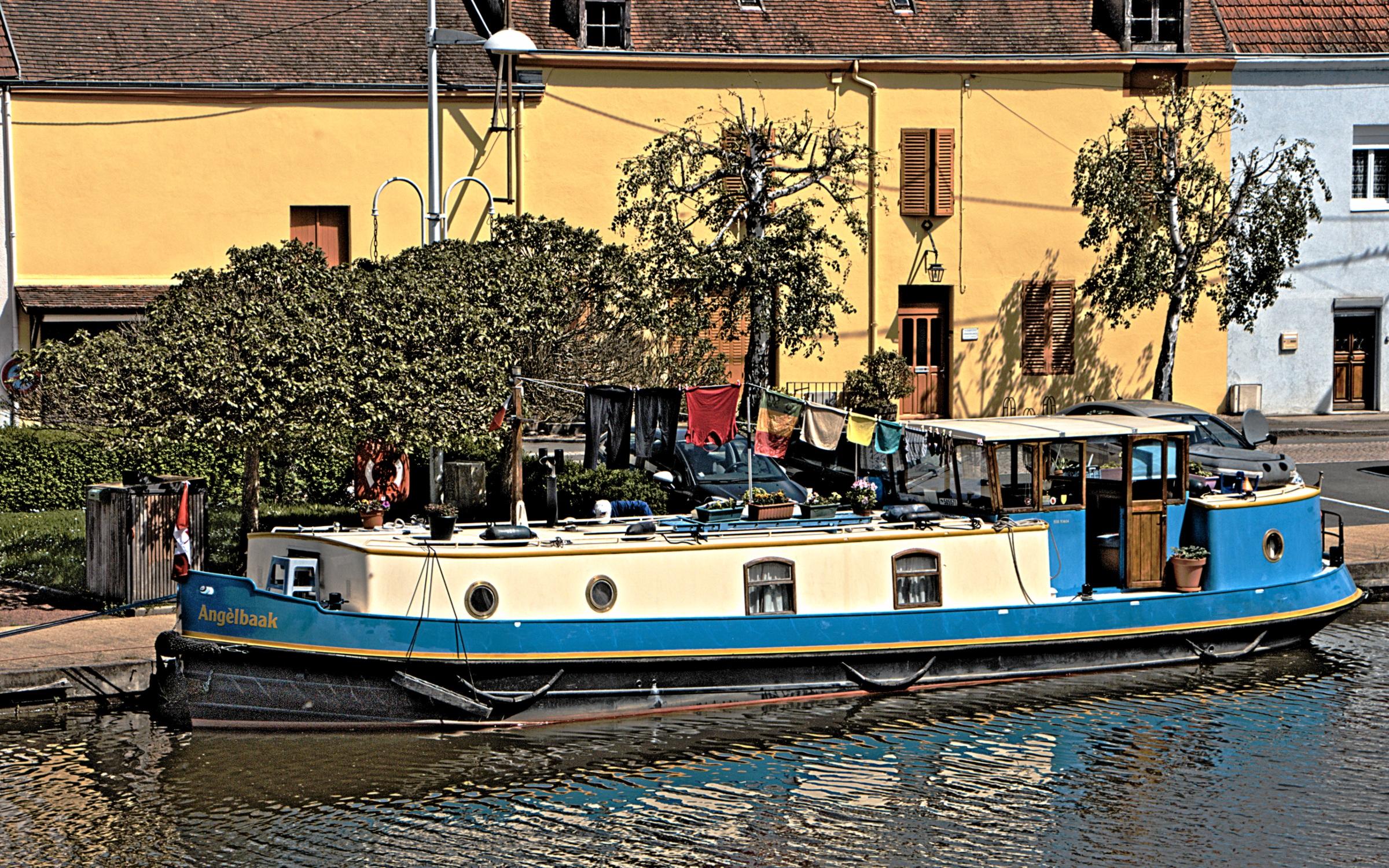Kostenlose foto : Boot, Kanal, Schiff, Betrachtung, Fahrzeug ...