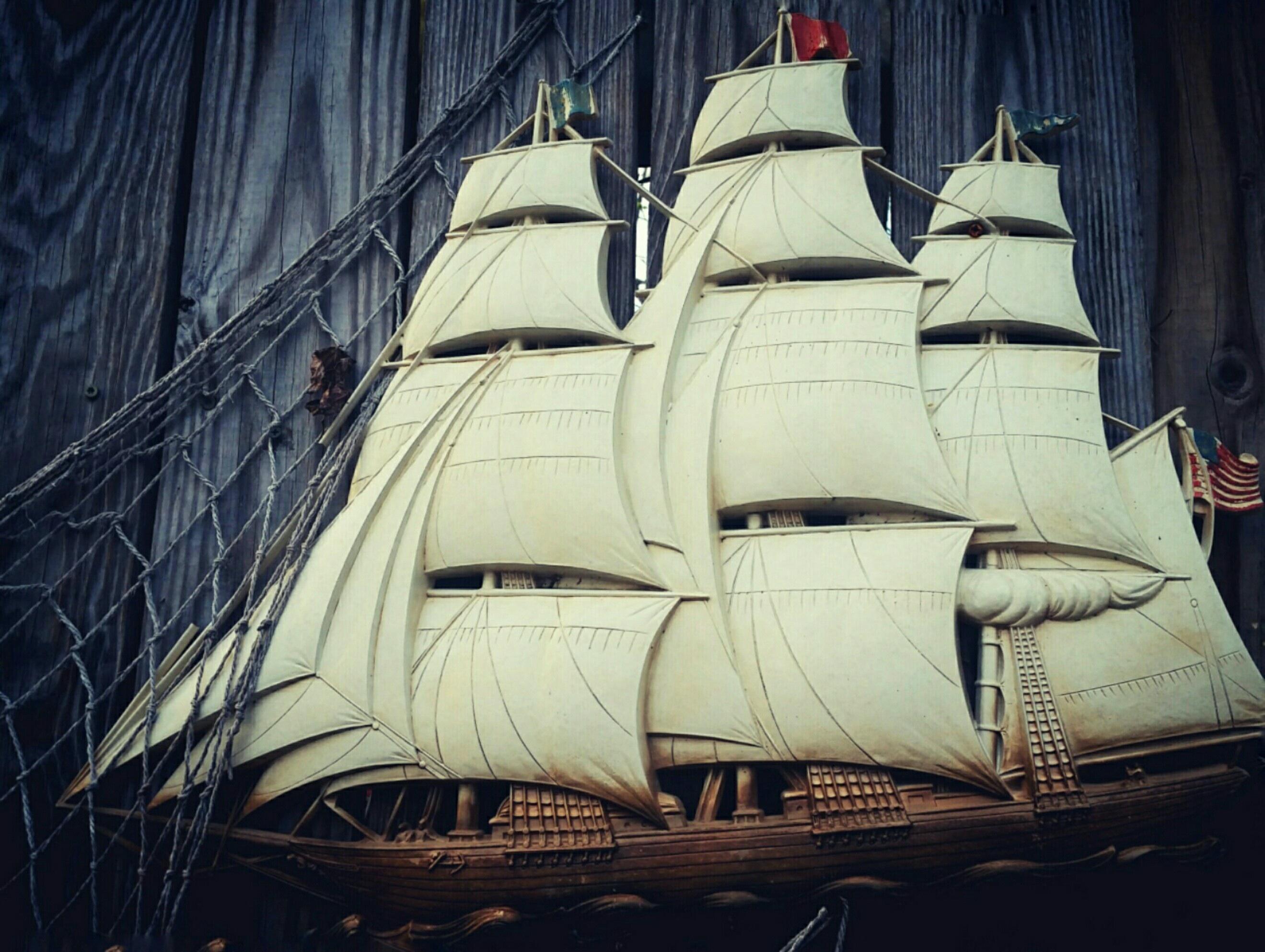 Картинка корабля каравелла