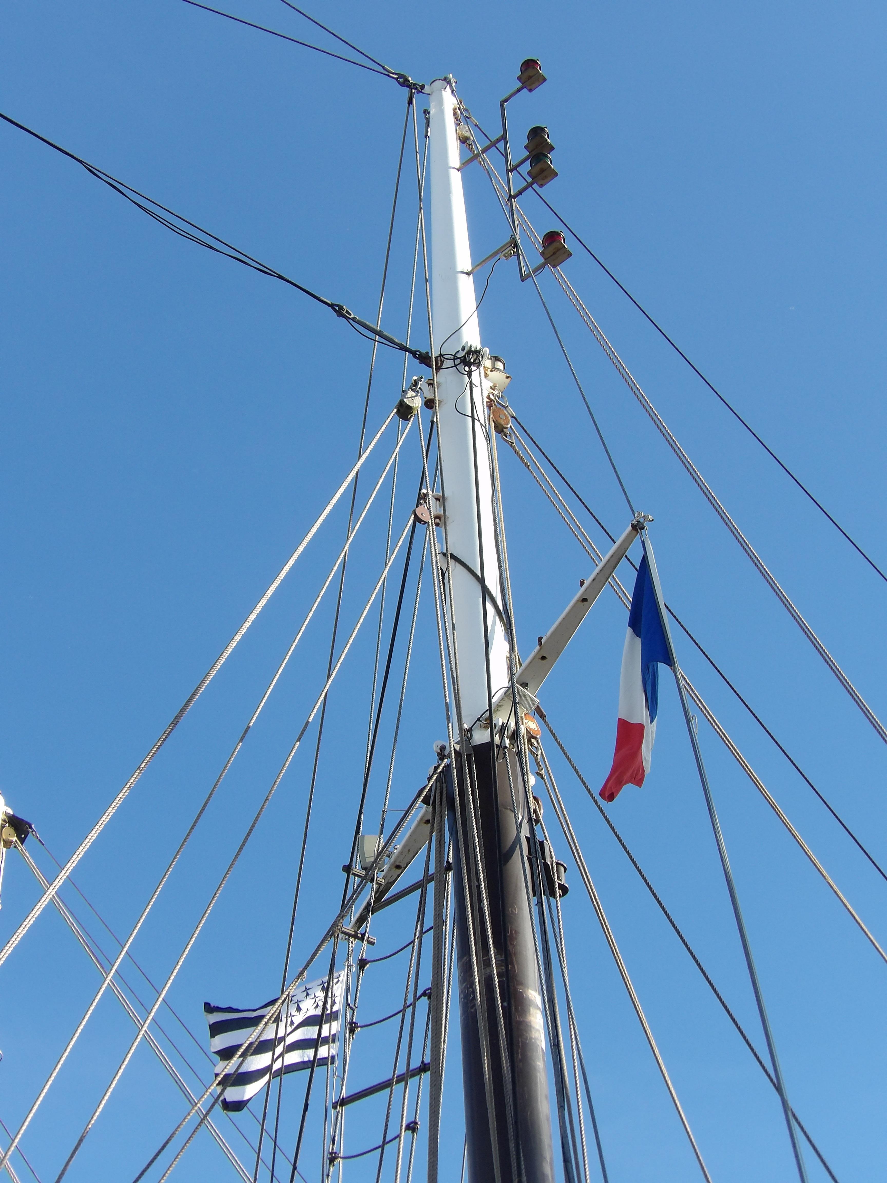 Images gratuites v hicule m t drapeau voilier ciel - Photo de voilier gratuite ...
