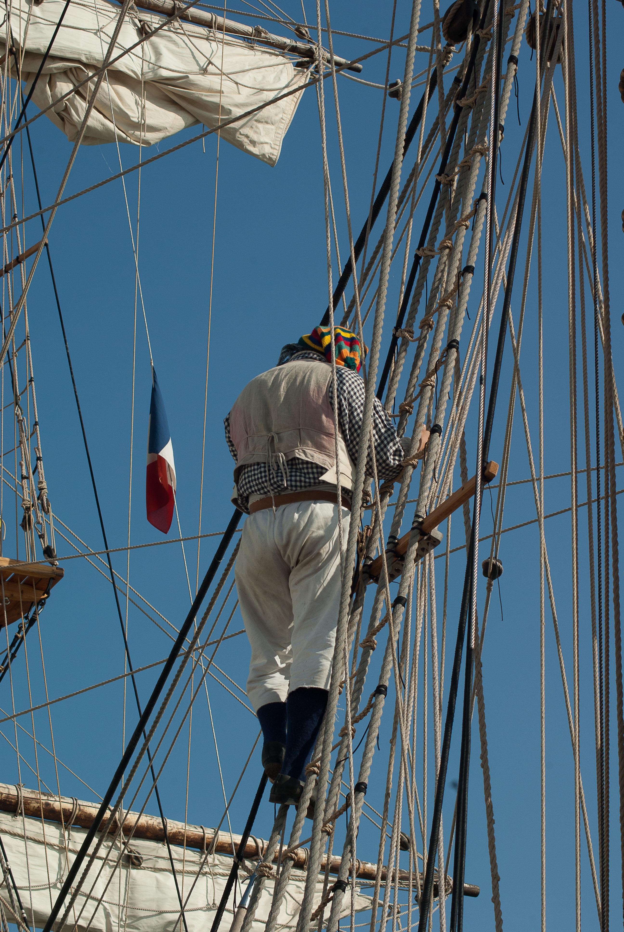 Free Images : boat, vehicle, mast, blue, sailboat, sail ... for Rope Ladder Ship  557yll